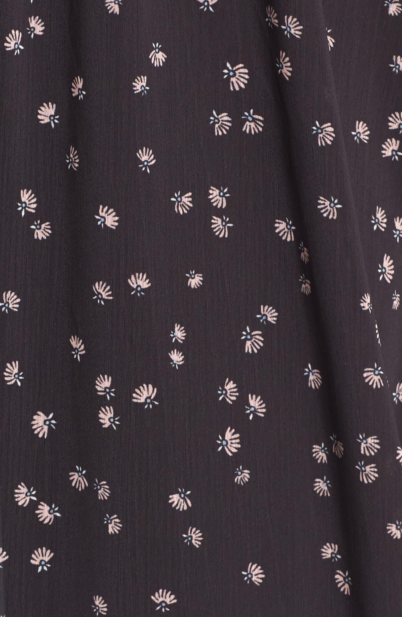 Alternate Image 5  - Love, Fire Tie Front Midi Dress