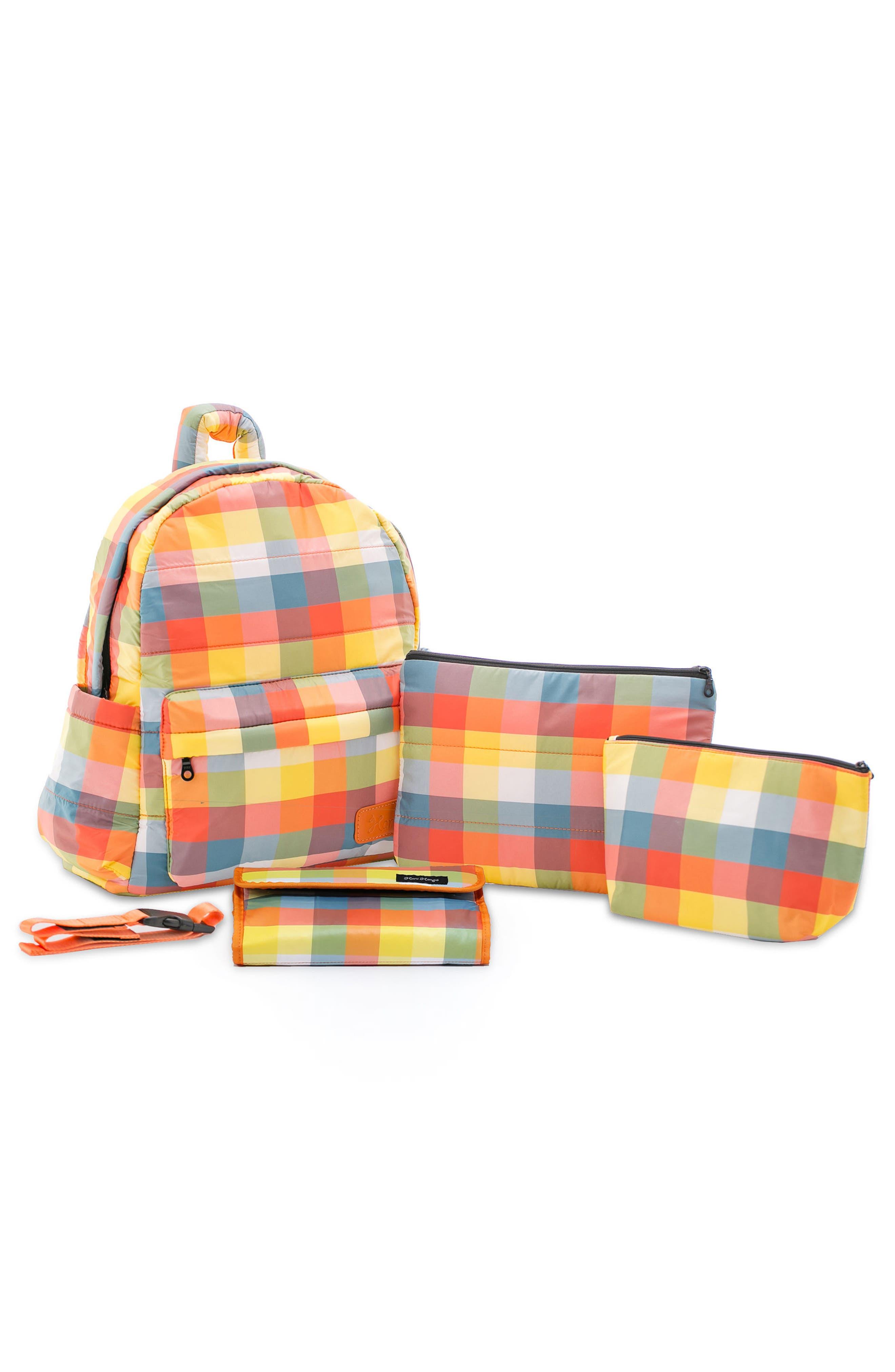 Alternate Image 4  - HARU Print Water Repellent Diaper Backpack