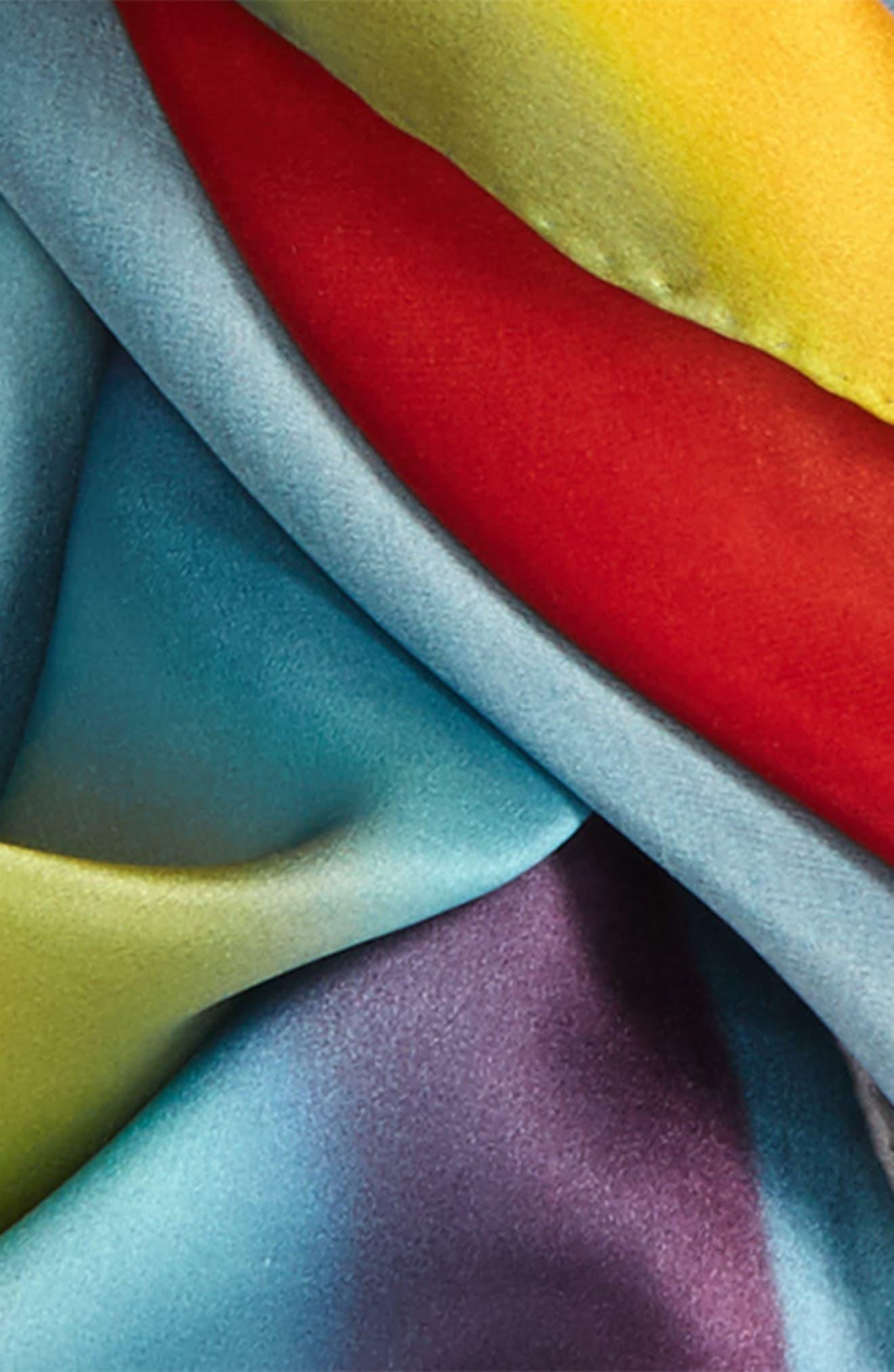 Alternate Image 3  - MARC JACOBS Rainbow Square Silk Scarf