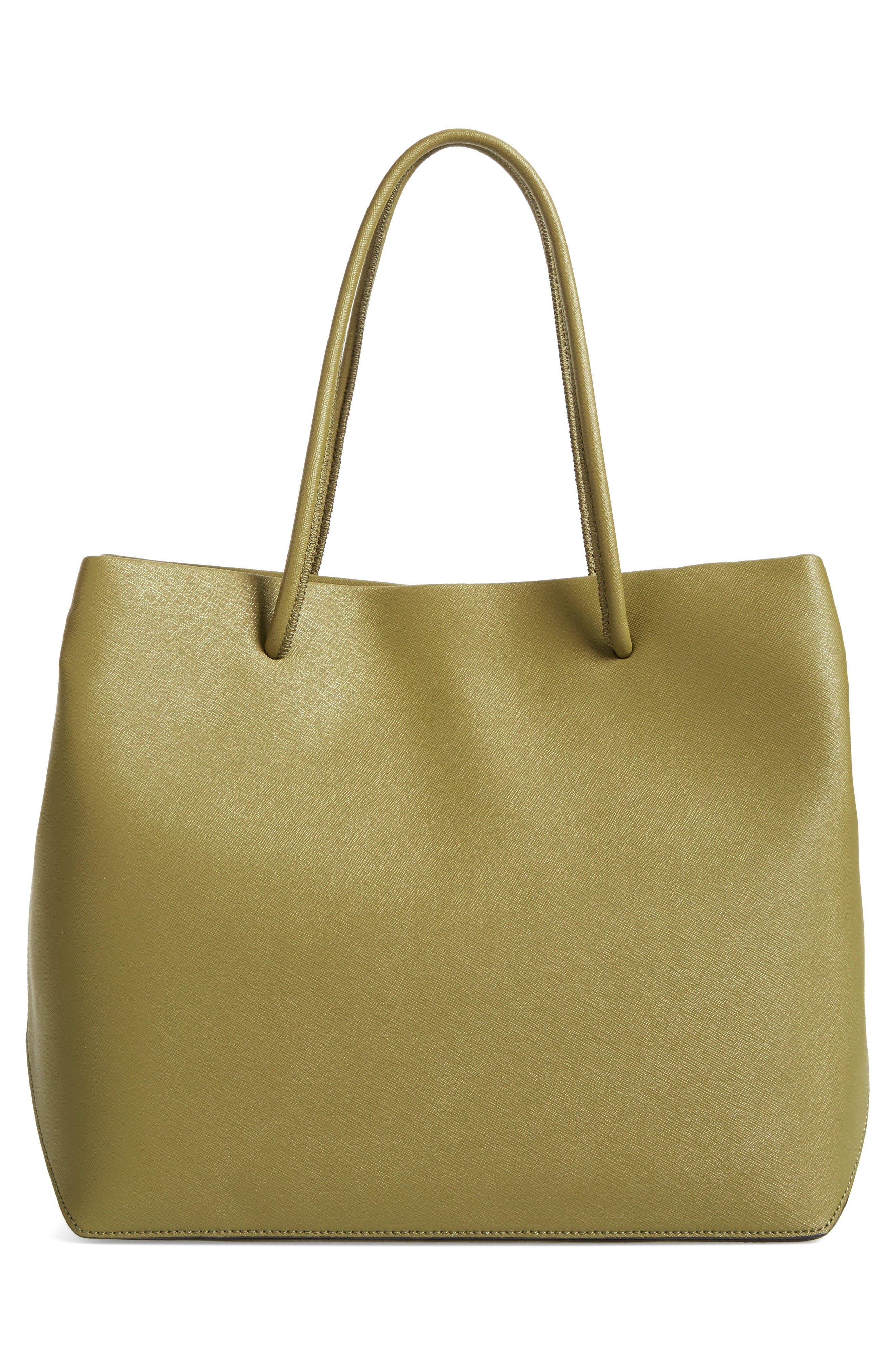 Alternate Image 3  - MARC JACOBS Logo Leather Shopper