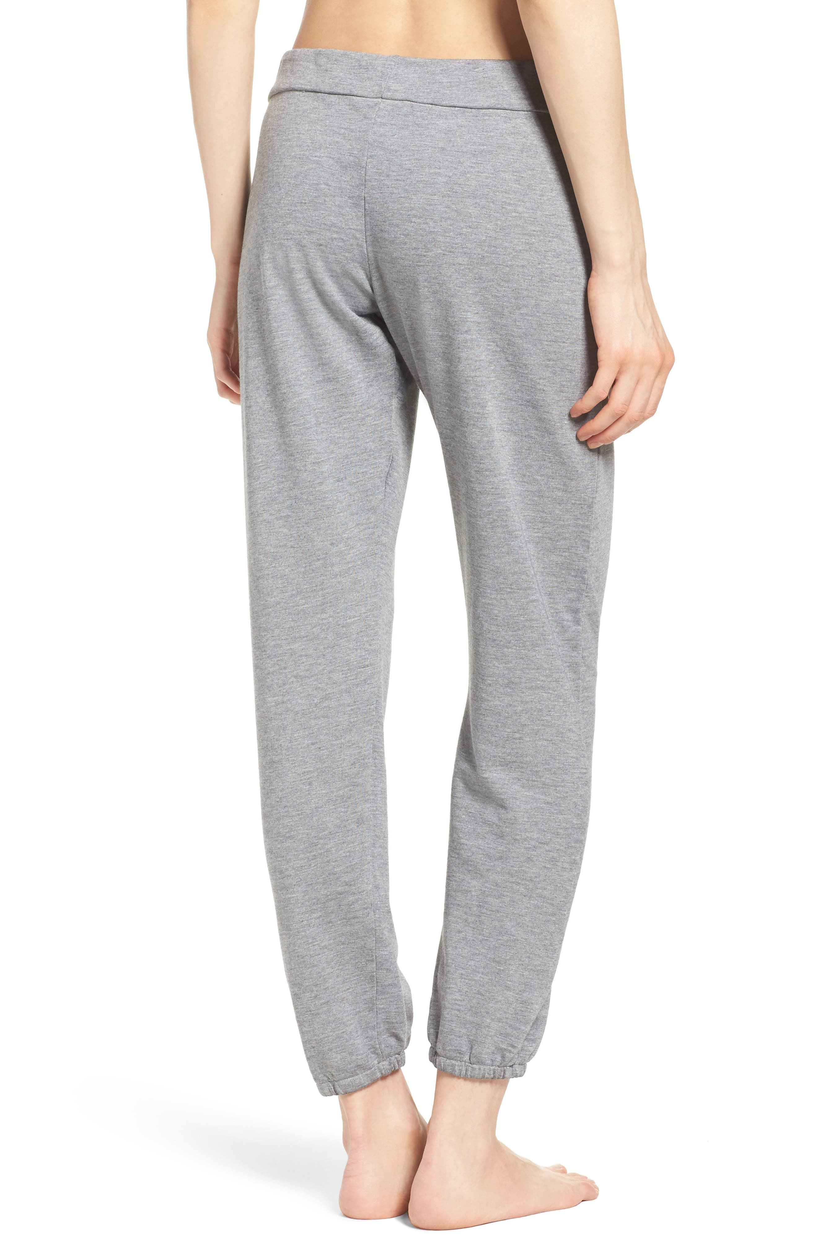 Alternate Image 2  - Honeydew Intimates French Terry Lounge Pants (Nordstrom Exclusive)