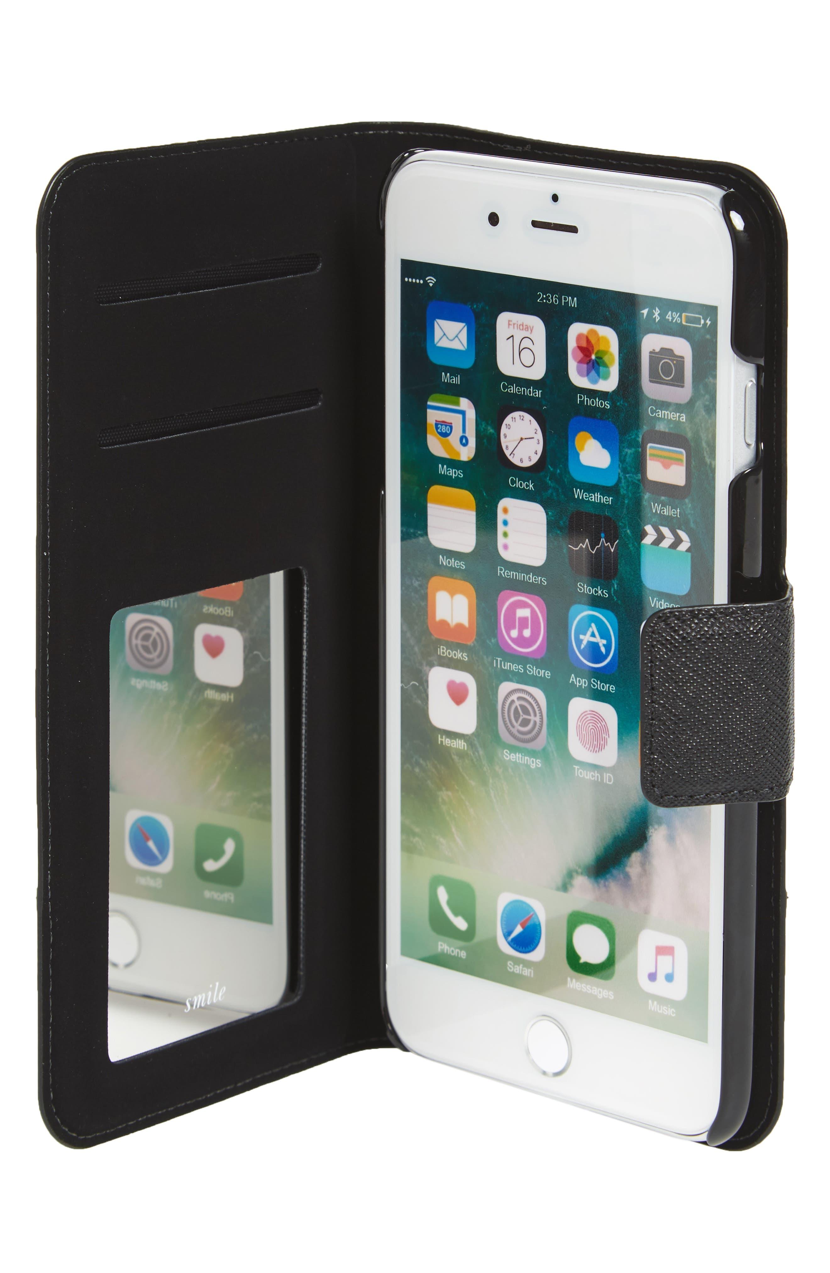 Main Image - kate spade new york iPhone 7 Plus folio case