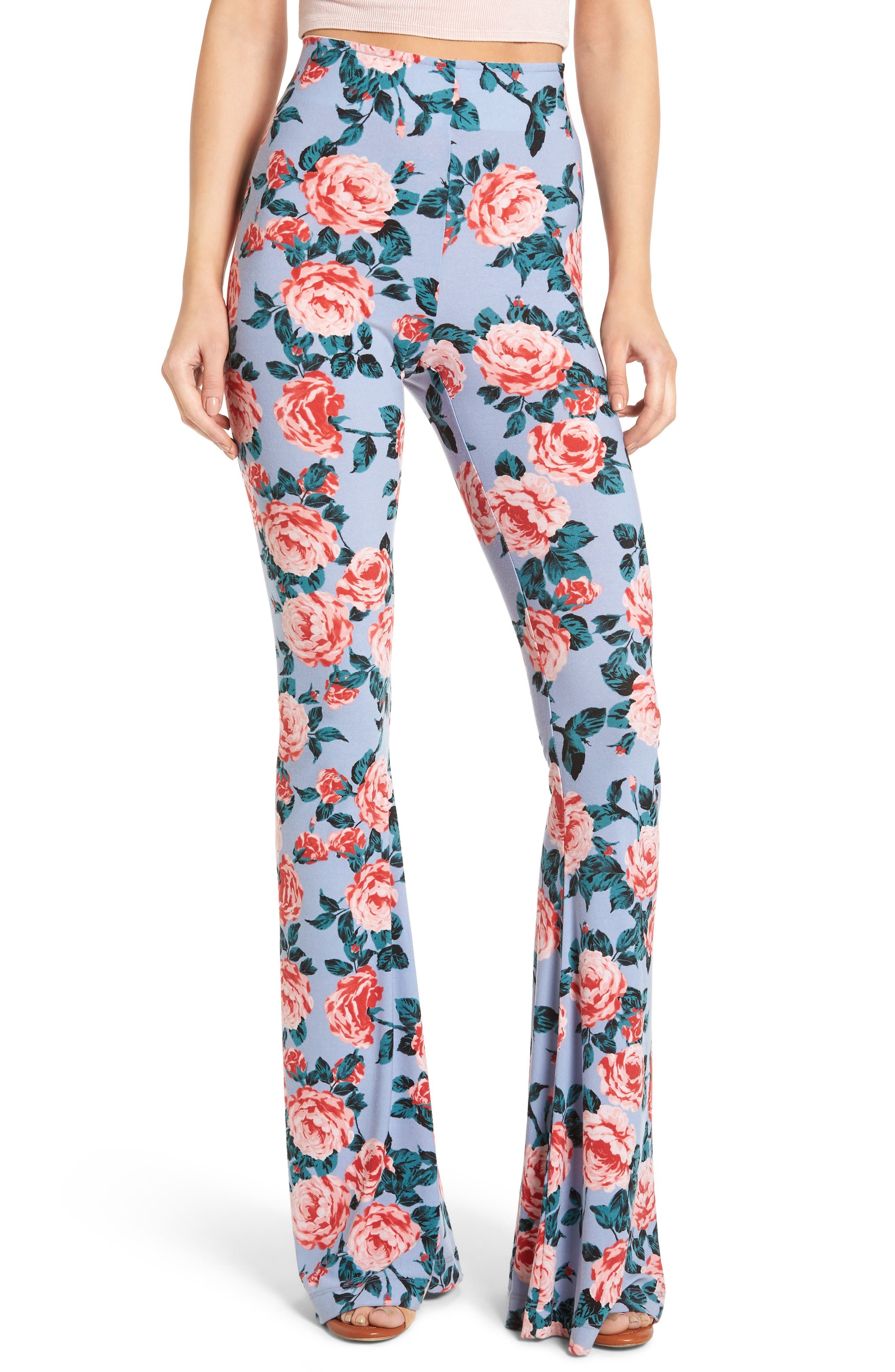 Alternate Image 1 Selected - Show Me Your Mumu Bam Bam Flare Pants