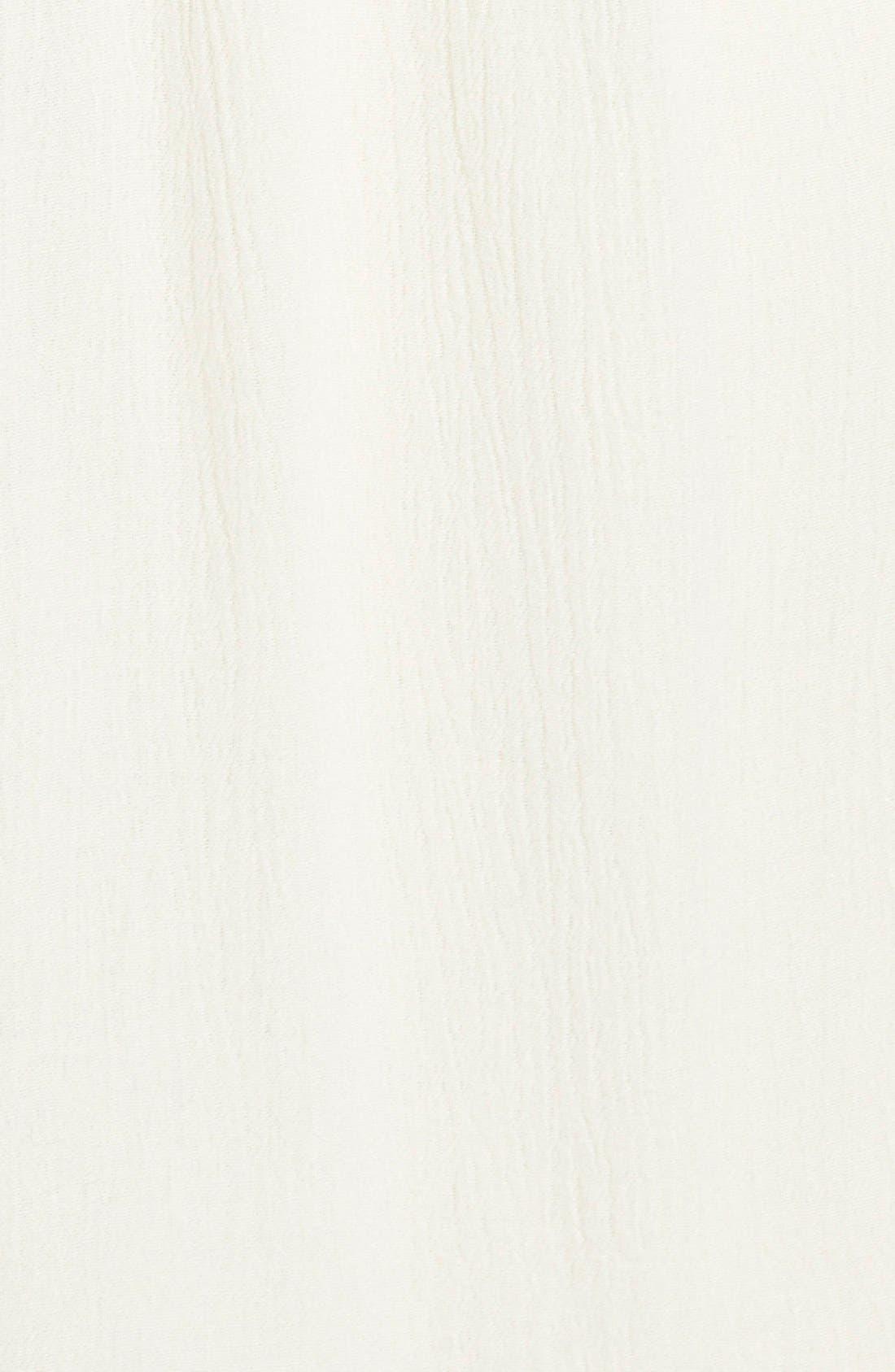 Alternate Image 3  - Fire Tassel Trim Off the Shoulder Dress (Juniors)