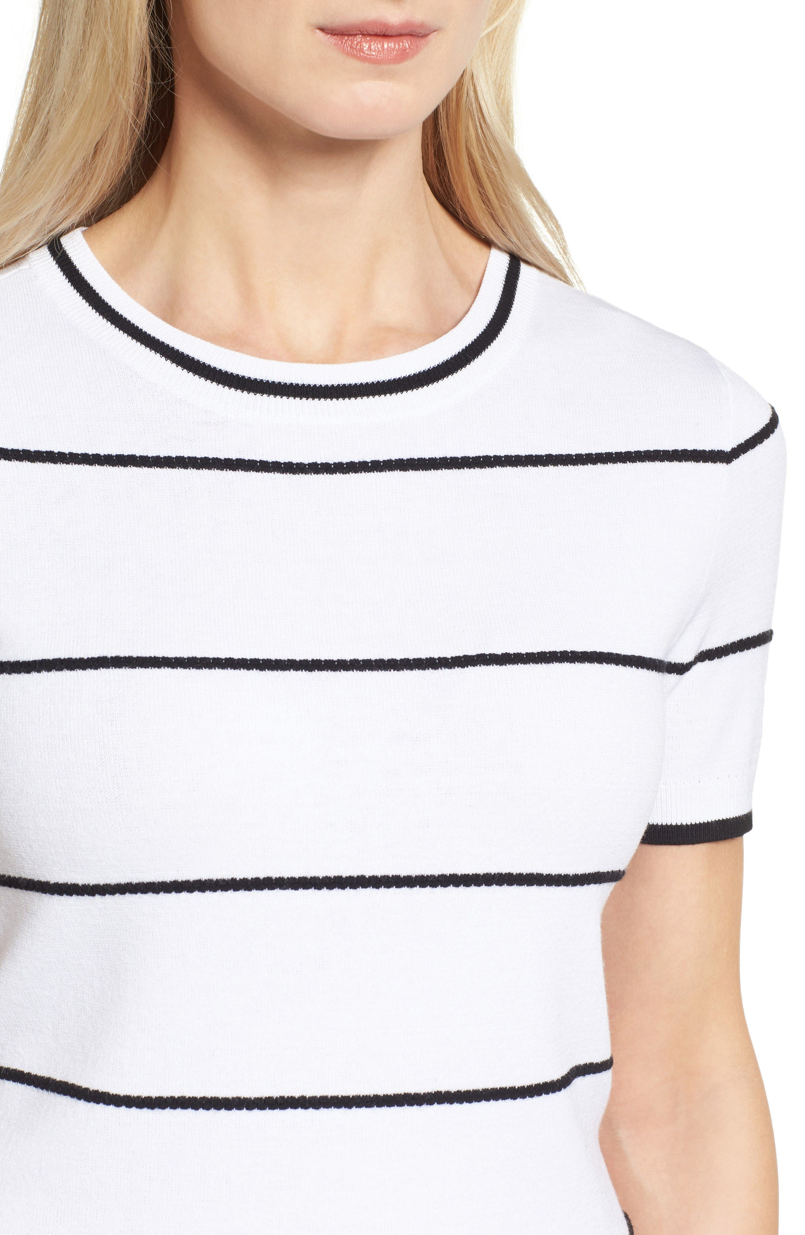 Alternate Image 6  - Halogen® Bow Back Pullover (Regular and Petite)