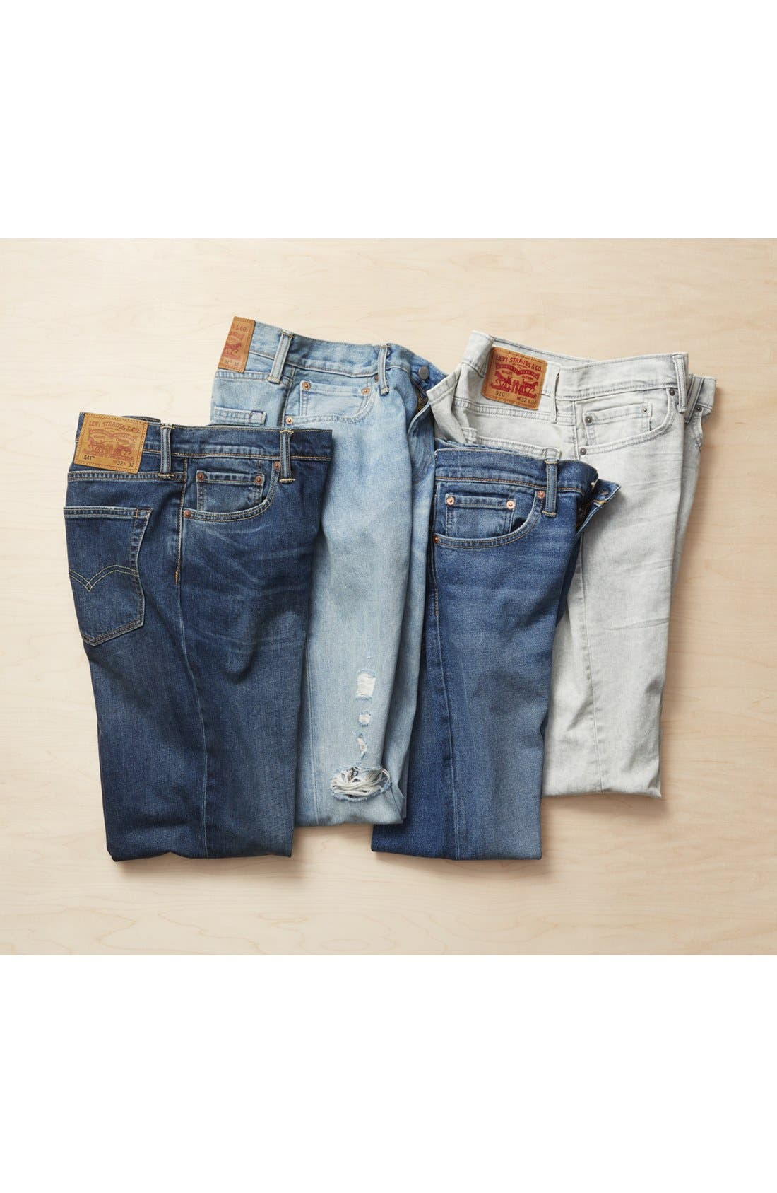 Alternate Image 6  - Levi's® 510™ Skinny Fit Jeans (Gingersnap)