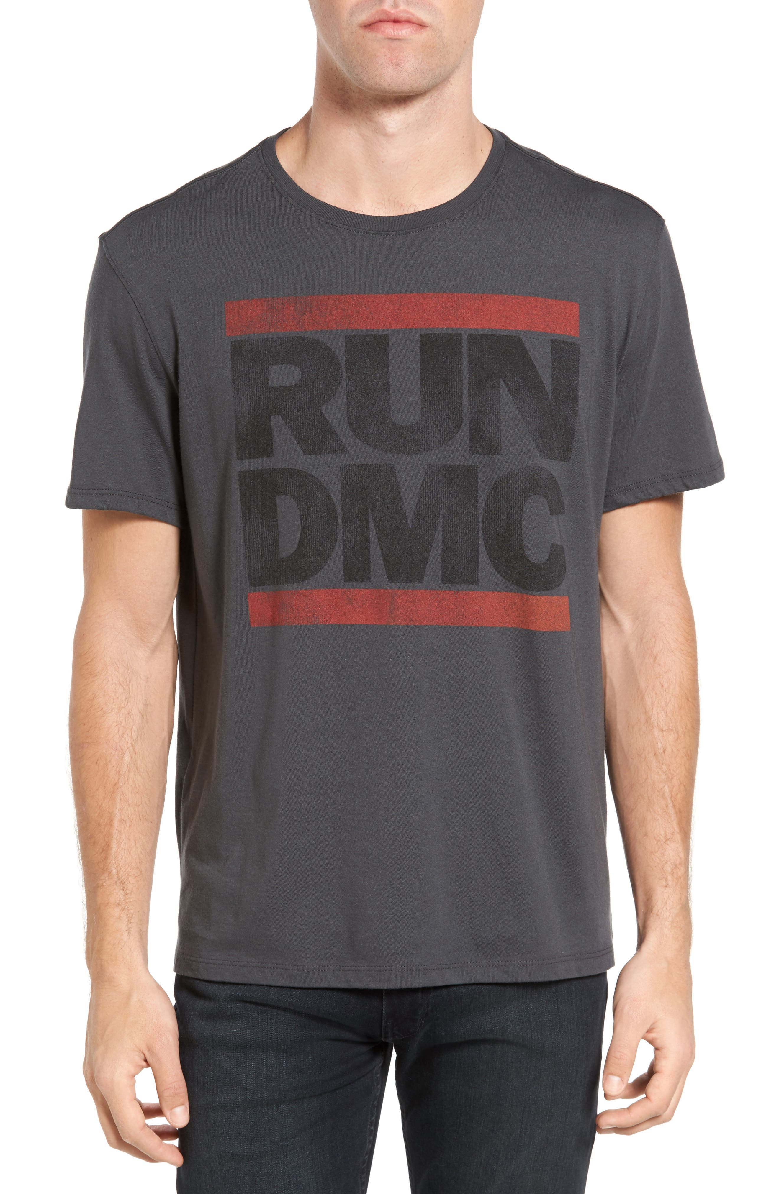 John Varvatos Star USA Run DMC Logo Graphic T-Shirt