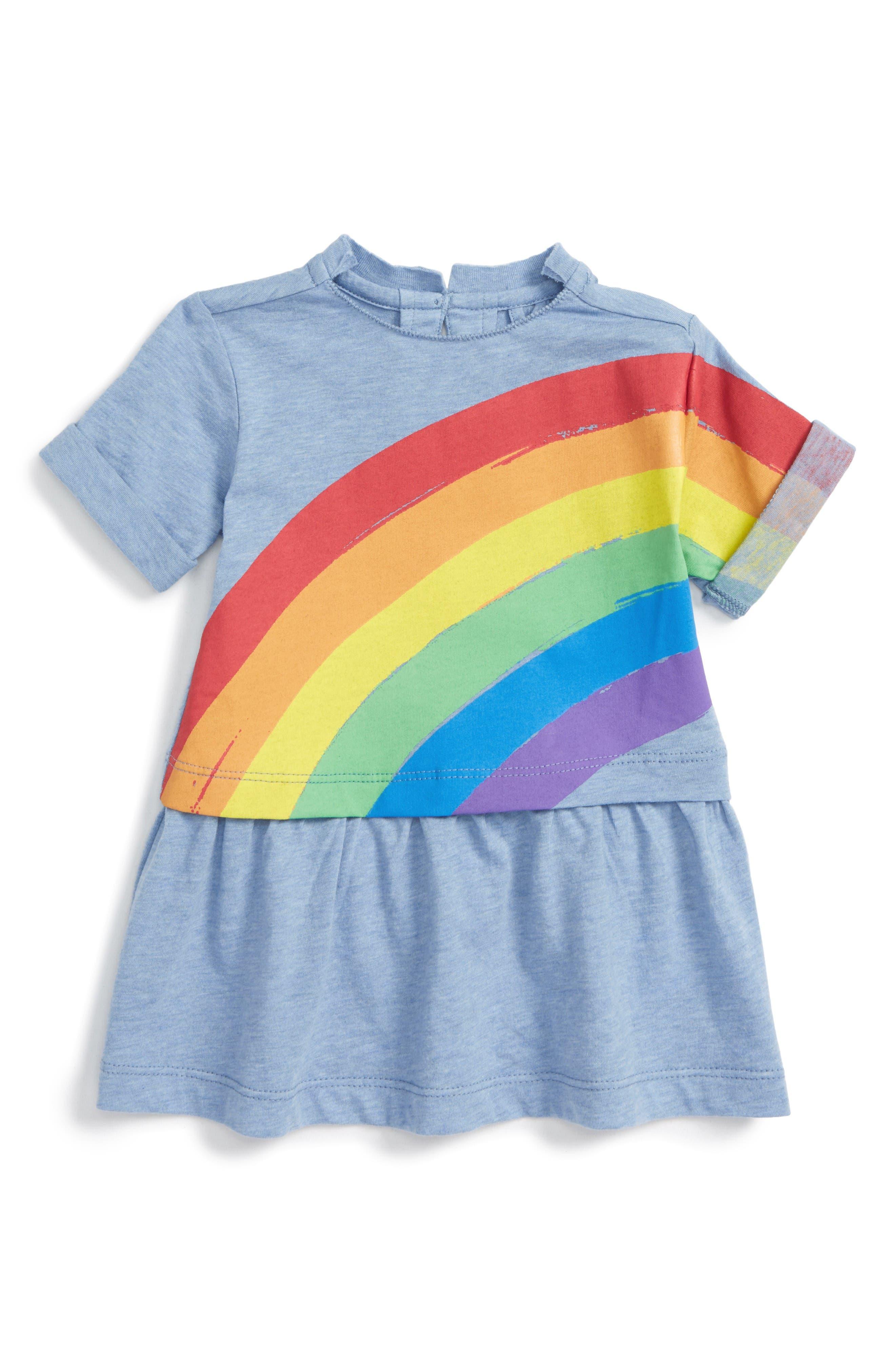 Stella McCartney Kids Jess Rainbow Dress (Baby Girls)