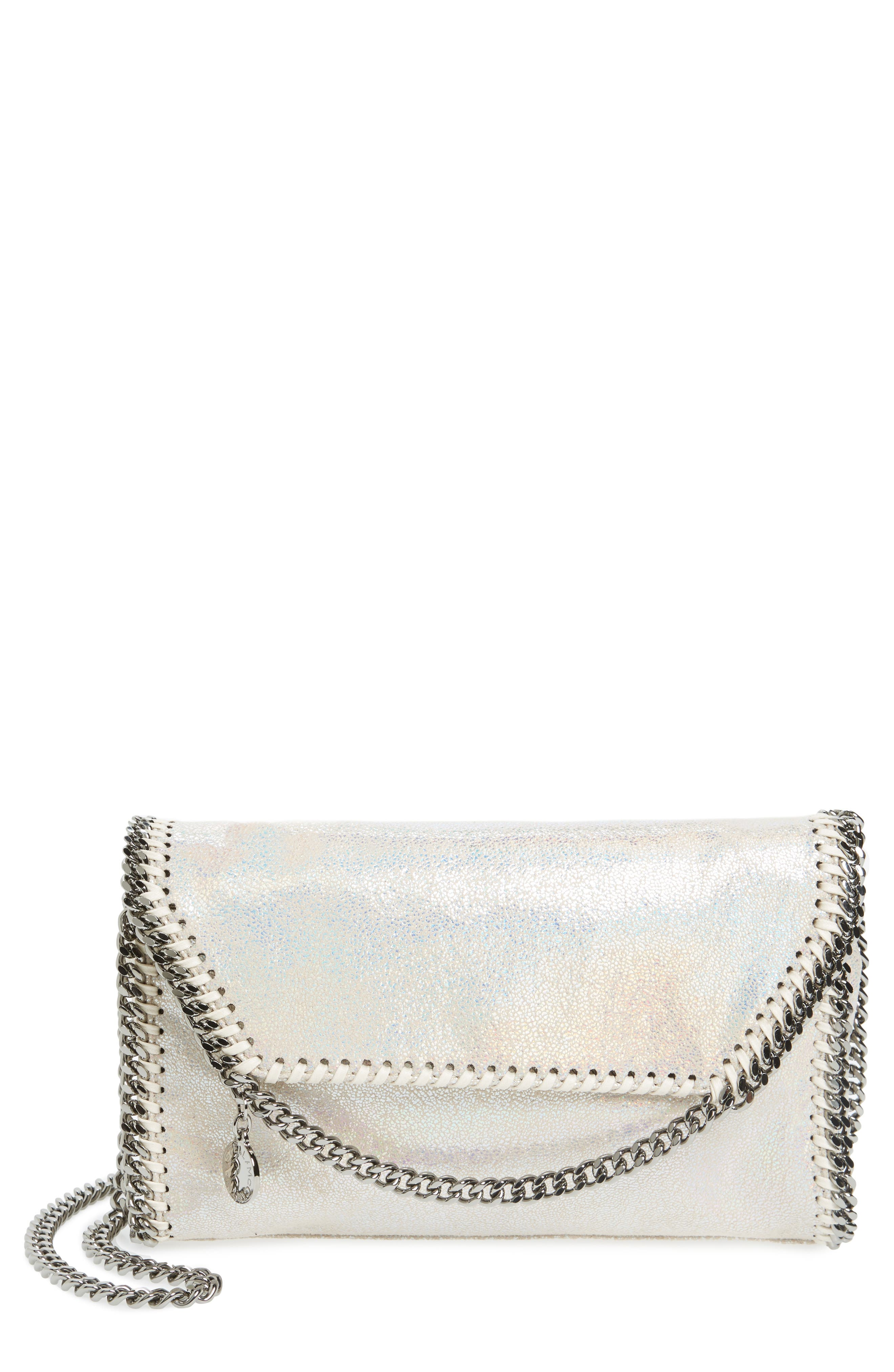 Main Image - Stella McCartney Falabella Shaggy Deer Faux Leather Crossbody Bag