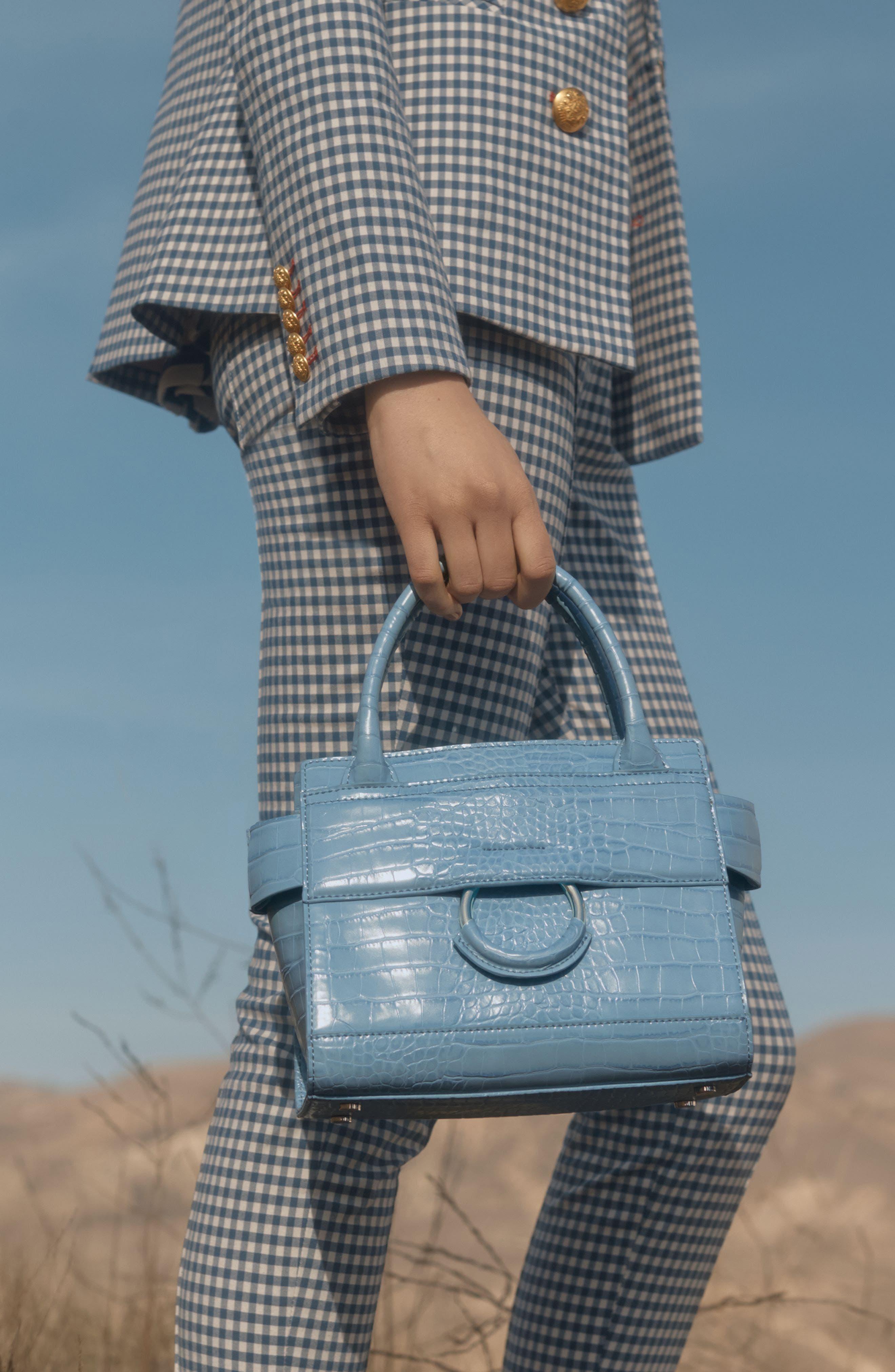 Alternate Image 9  - Sam Edelman Mini Chiara Faux Leather Satchel