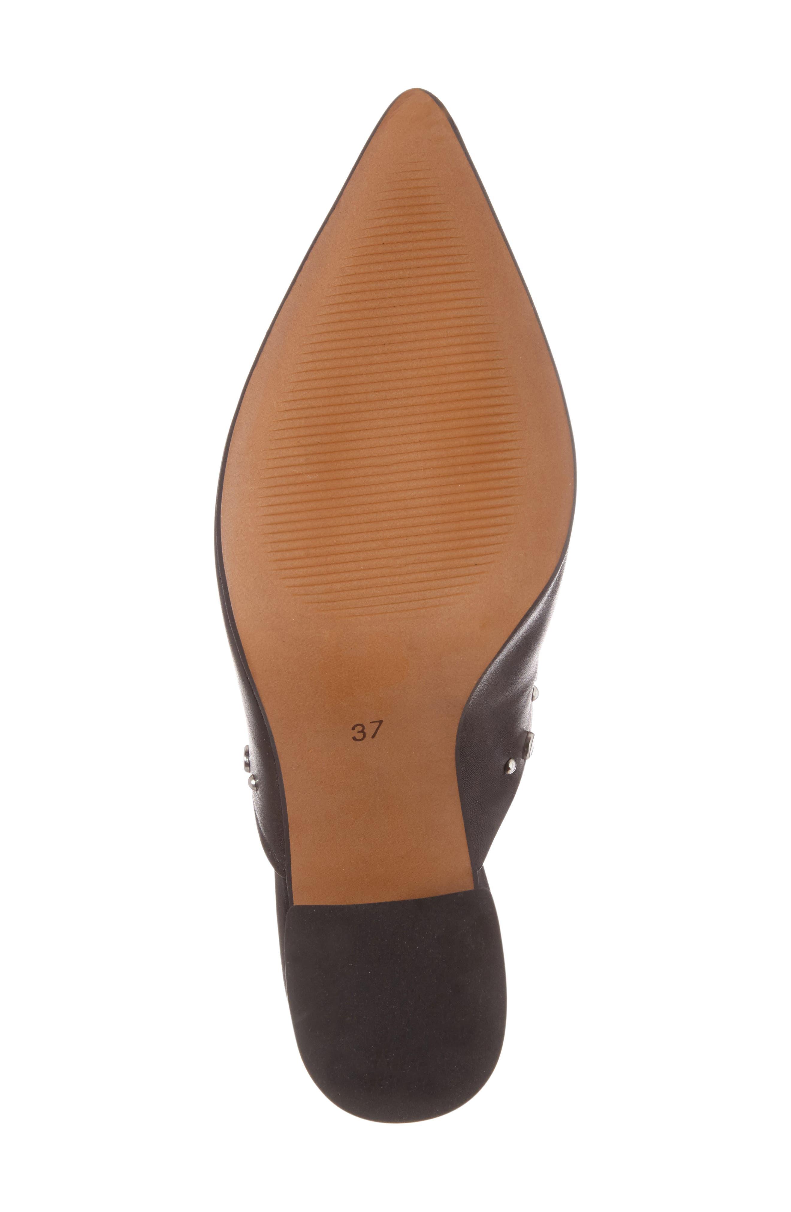 Alternate Image 6  - Topshop Studded Flared Heel Mule (Women)
