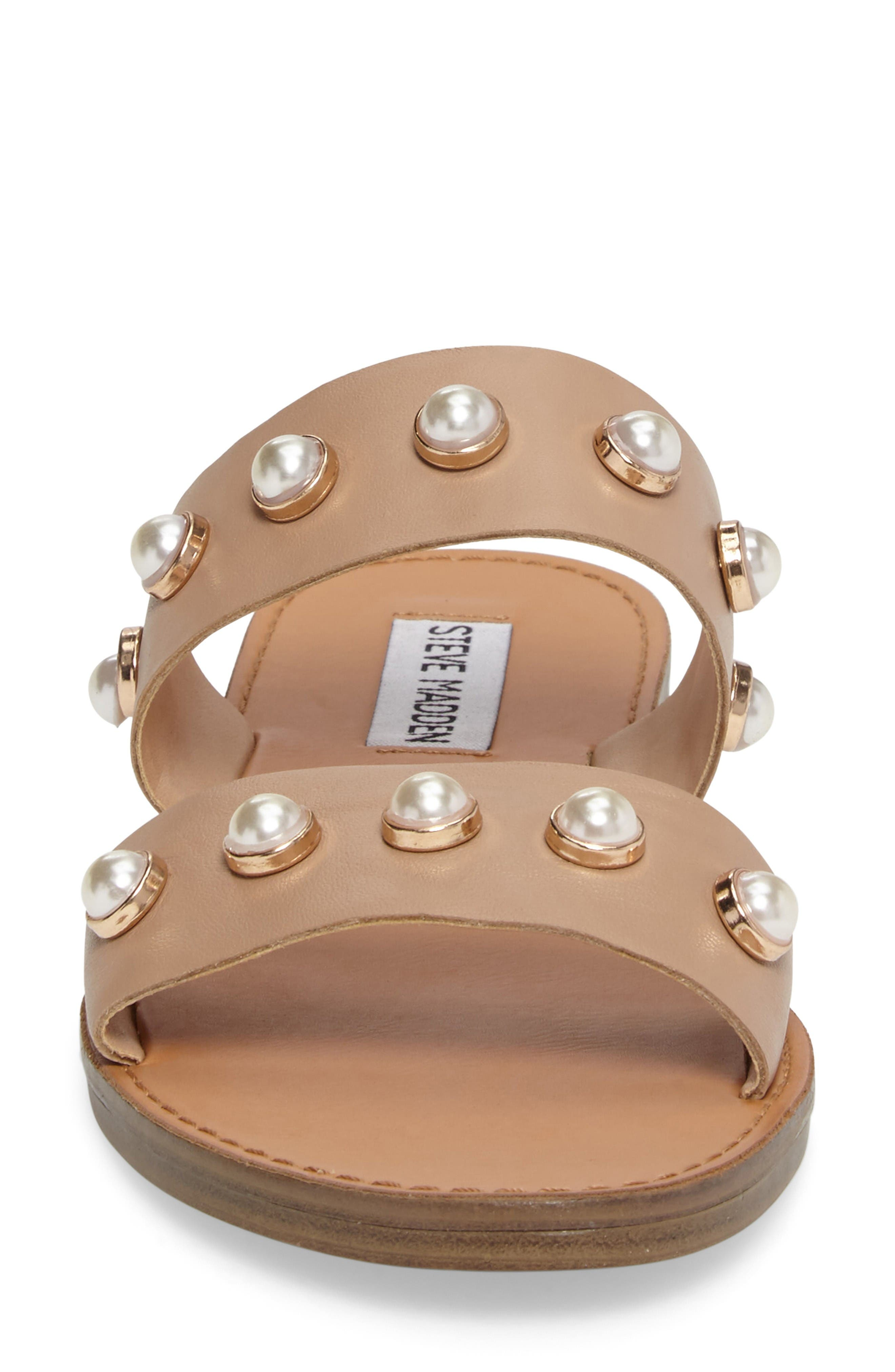 Alternate Image 4  - Steve Madden Jole Embellished Slide Sandal (Women)