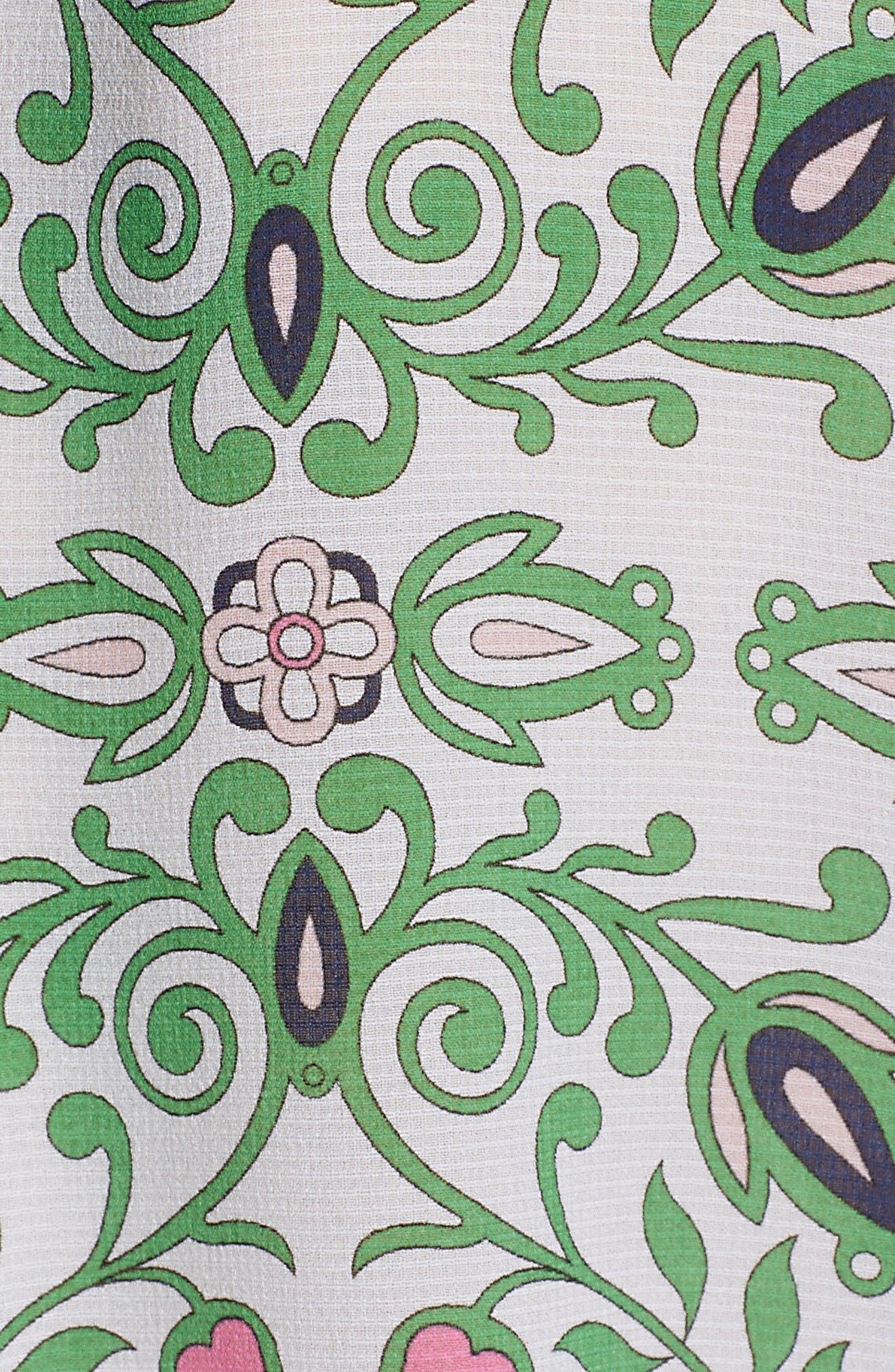 Alternate Image 5  - Tory Burch Kia Print Silk Blouse