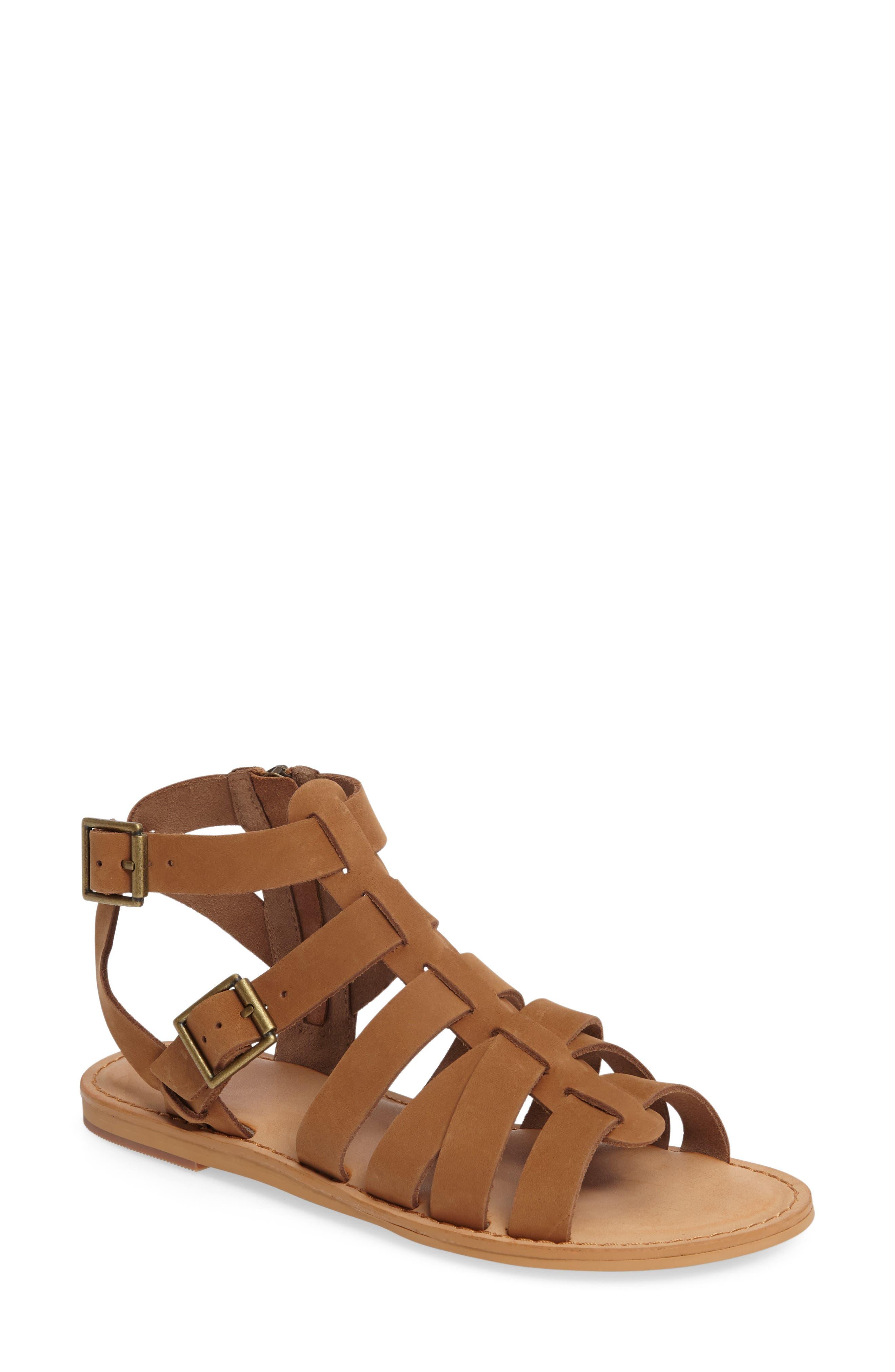 Alternate Image 1 Selected - BP. Britt Gladiator Sandal (Women)