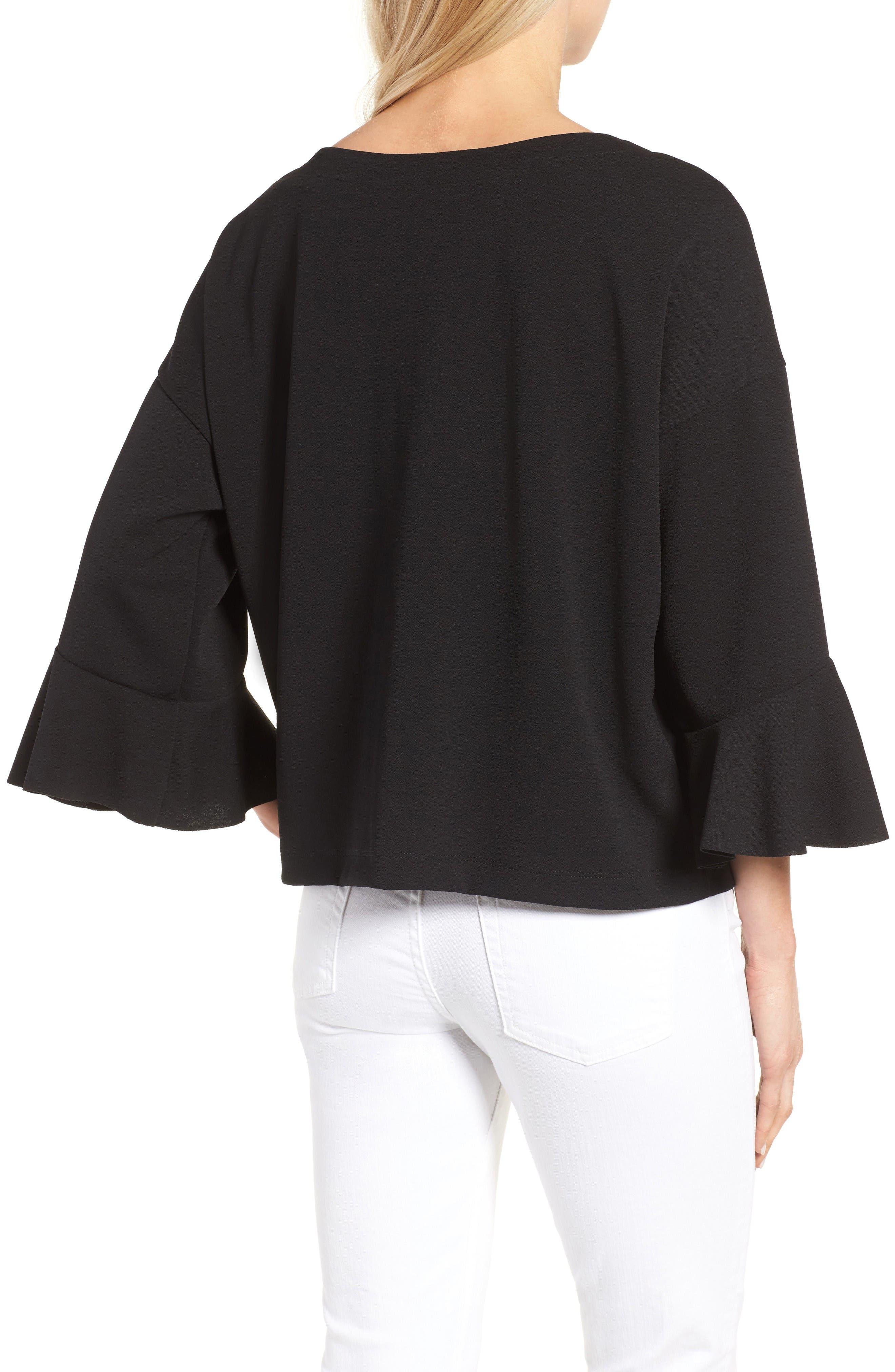 Alternate Image 2  - Halogen® Oversized Bell Sleeve Top