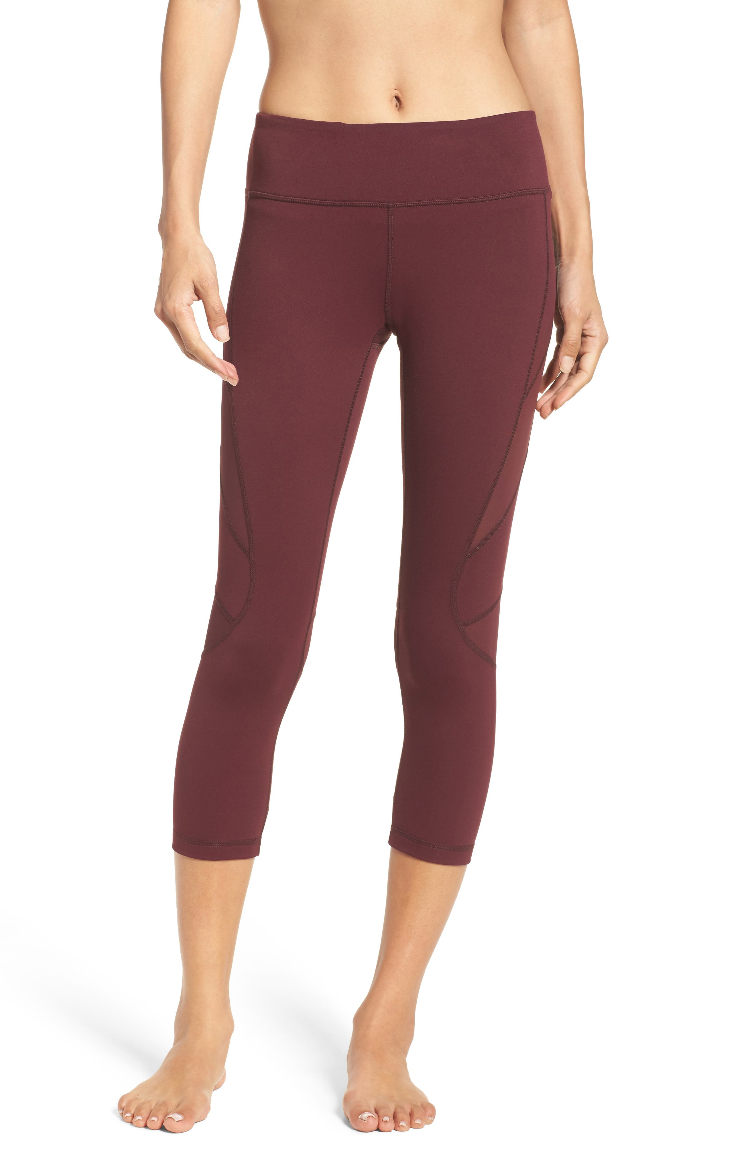 Zella Power Splice Crop Leggings