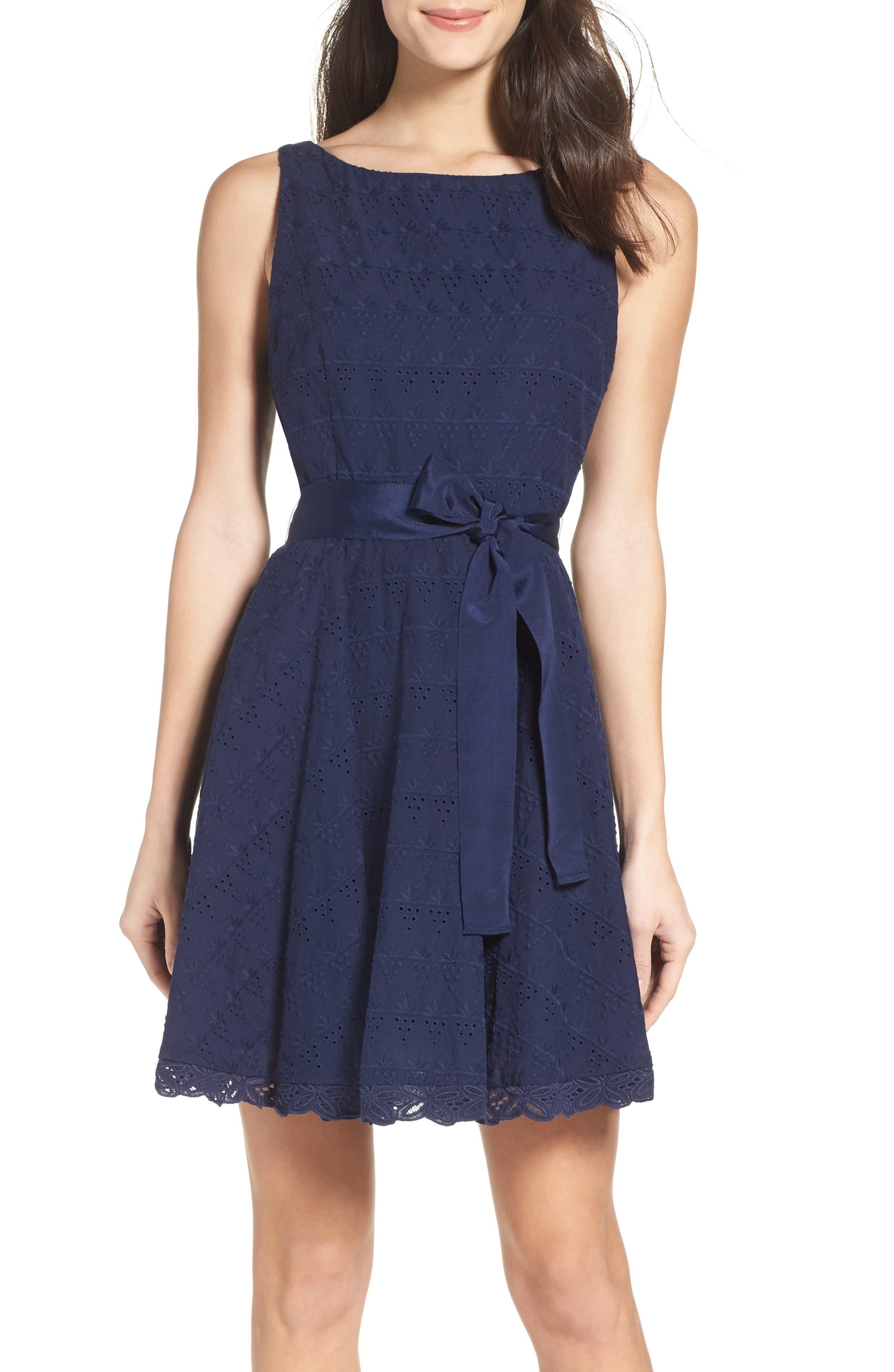 BB Dakota Ty Fit & Flare Dress