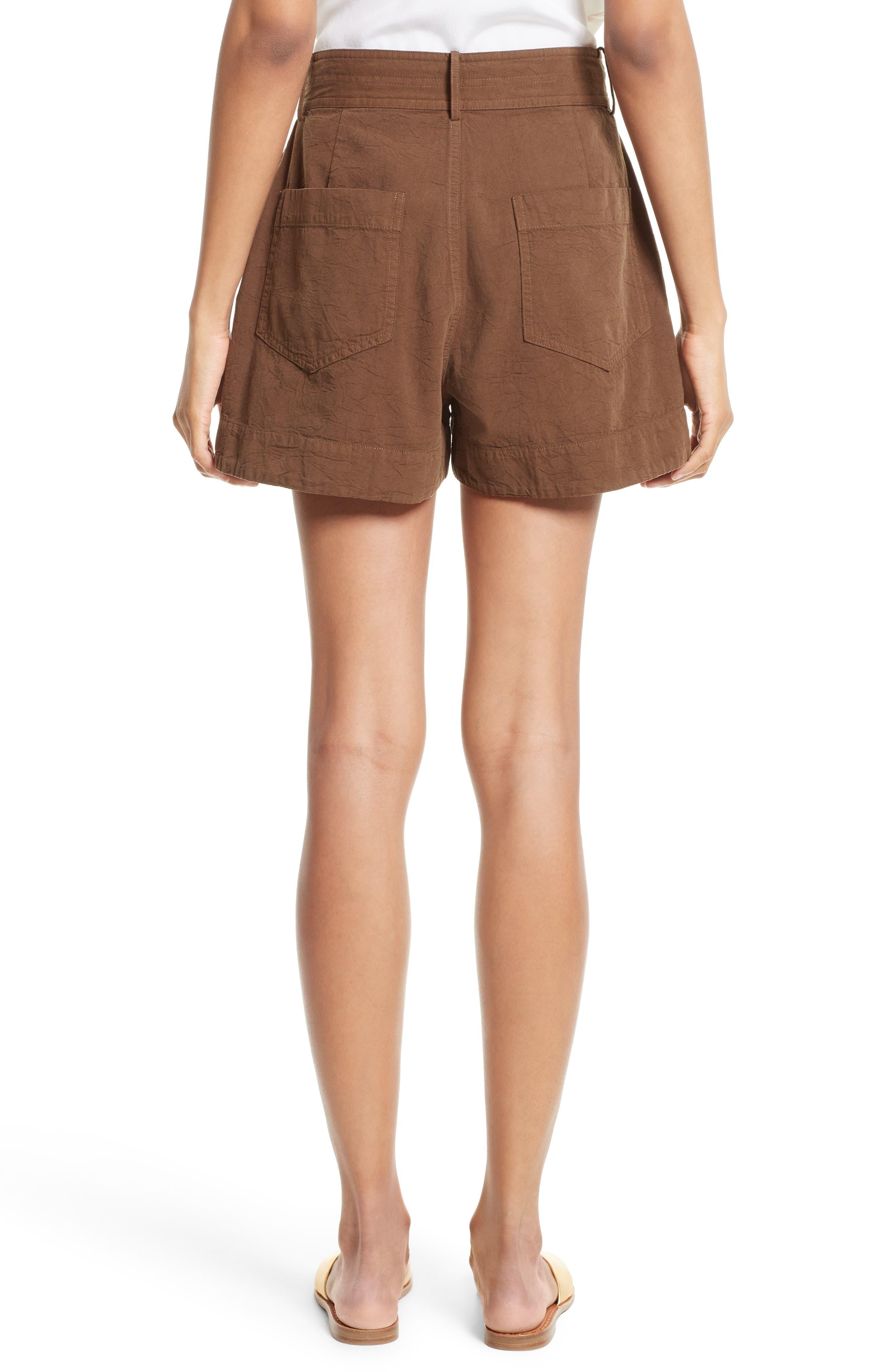 Alternate Image 2  - Apiece Apart Merida Cotton Shorts