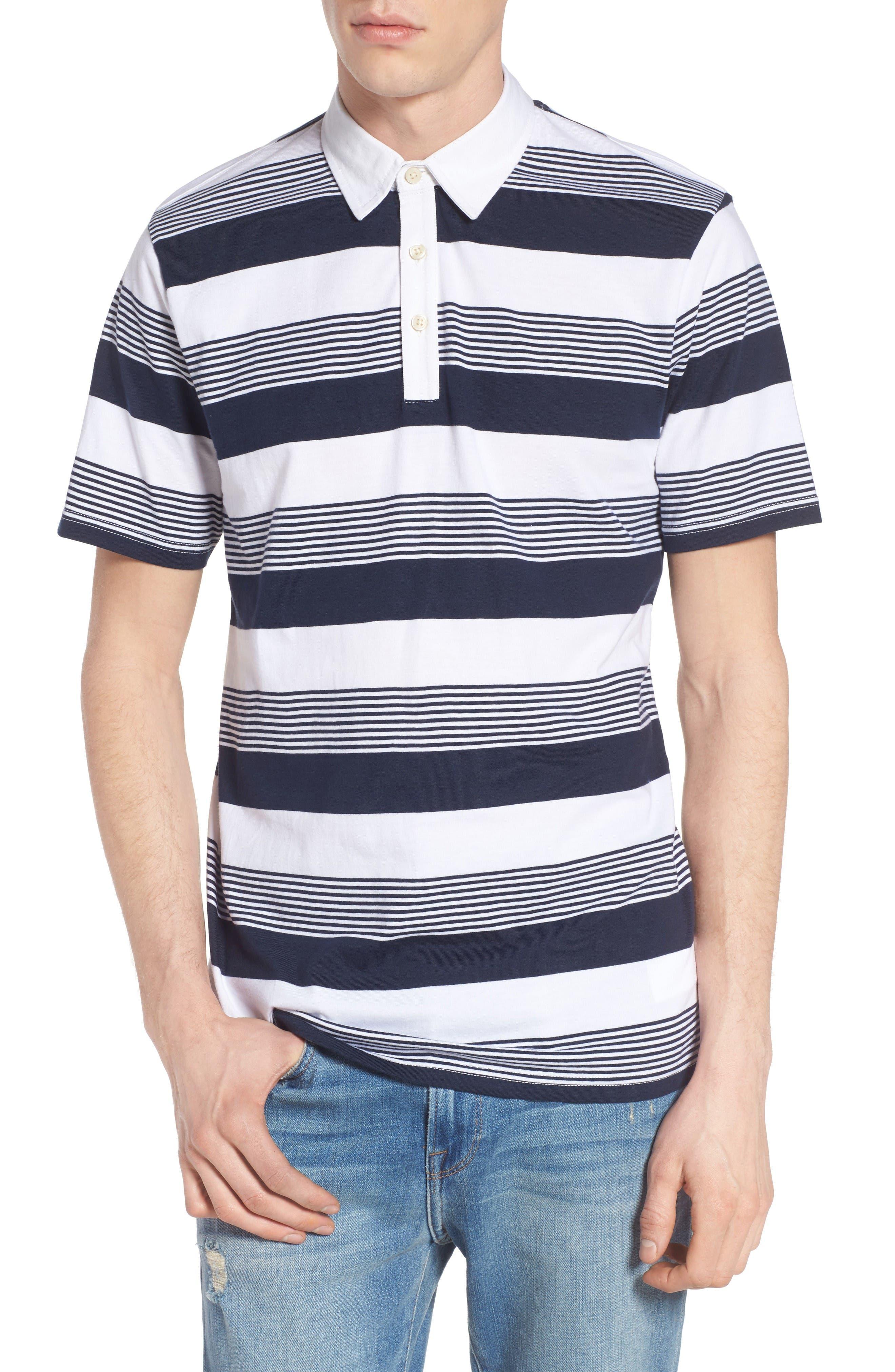 Vans Chima Stripe Jersey Polo