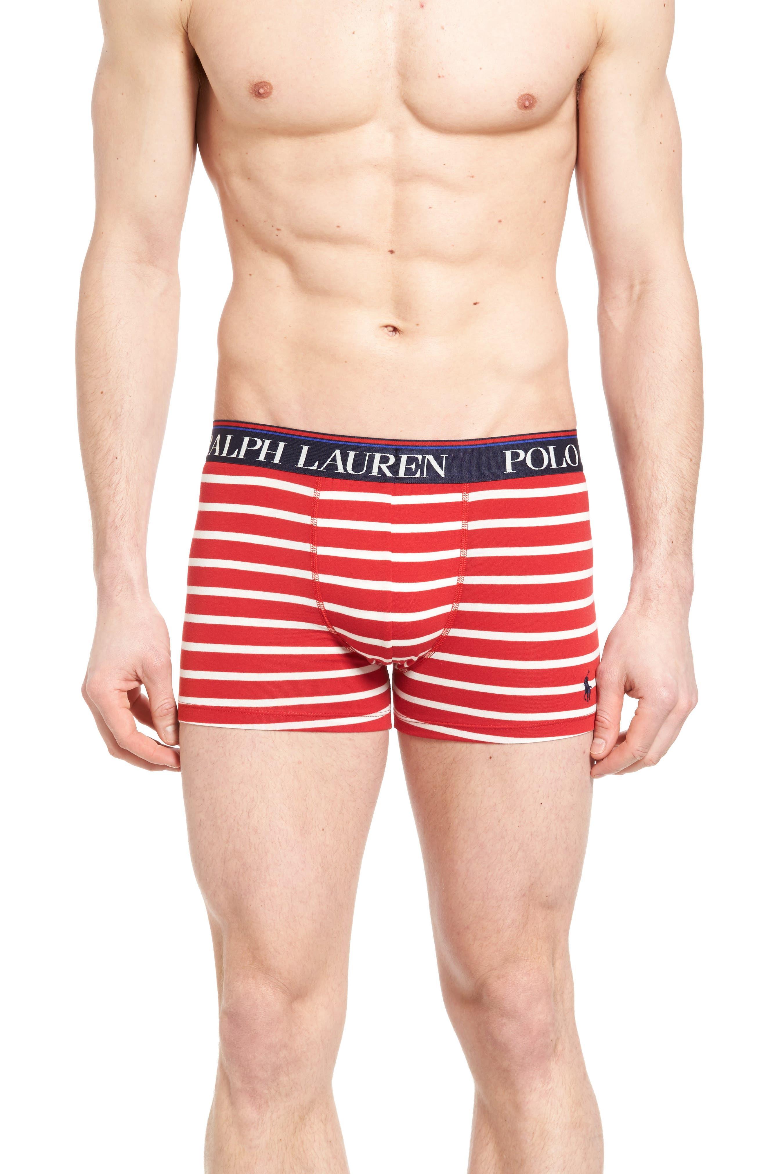 Polo Ralph Lauren Stretch Cotton Boxer Briefs