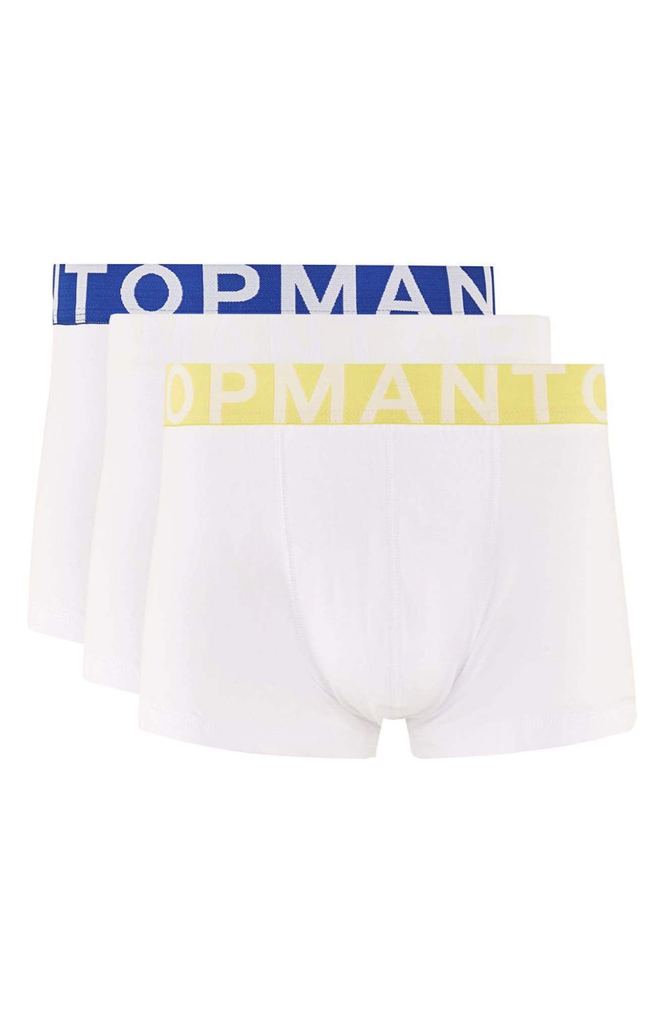 Topman 3-Pack Hipster Trunks