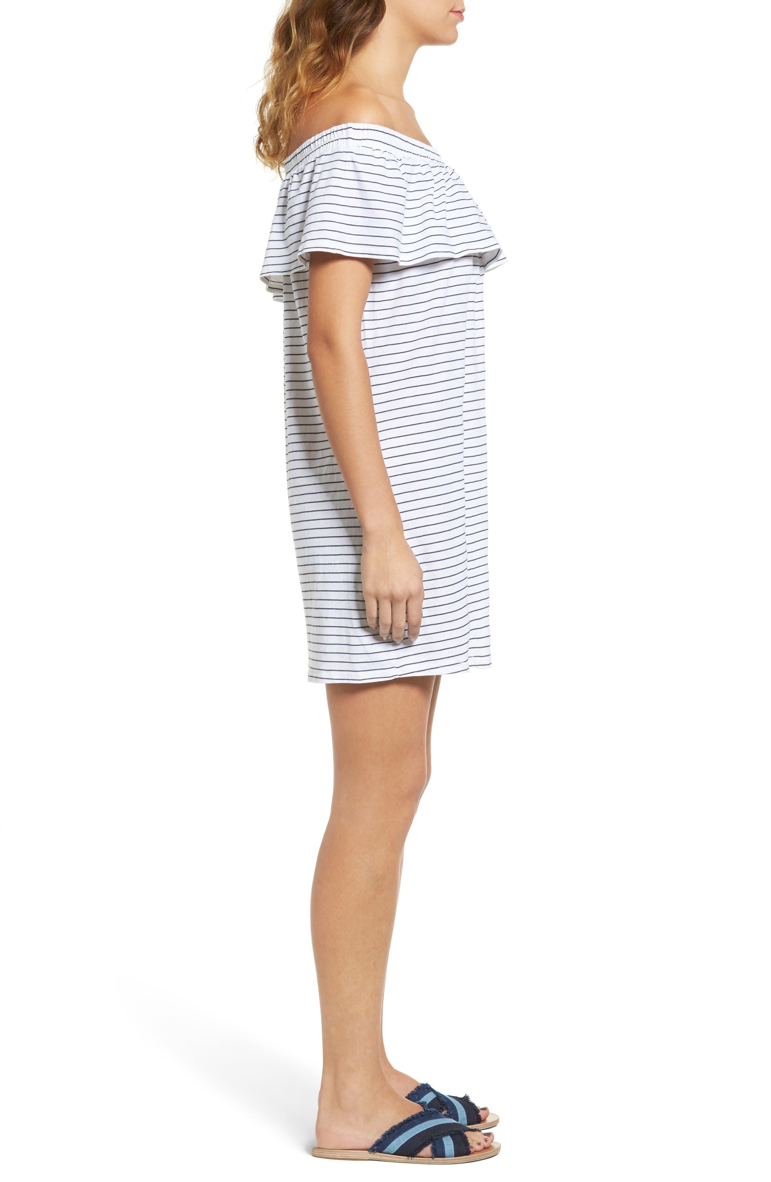 Alternate Image 3  - Sundry Ruffle Off the Shoulder Dress