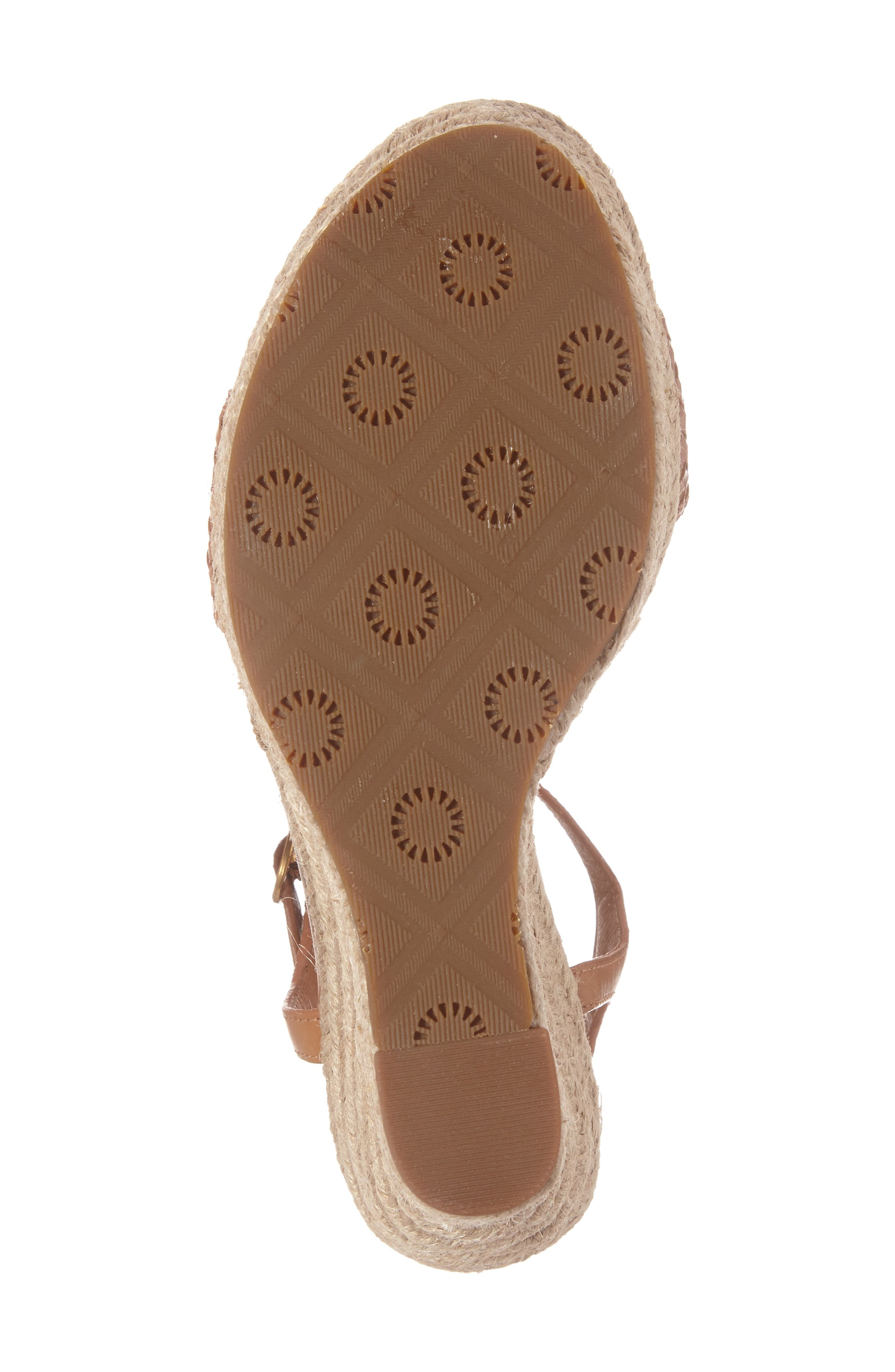 Alternate Image 6  - UGG® Fitchie II Espadrille Wedge Sandal (Women)