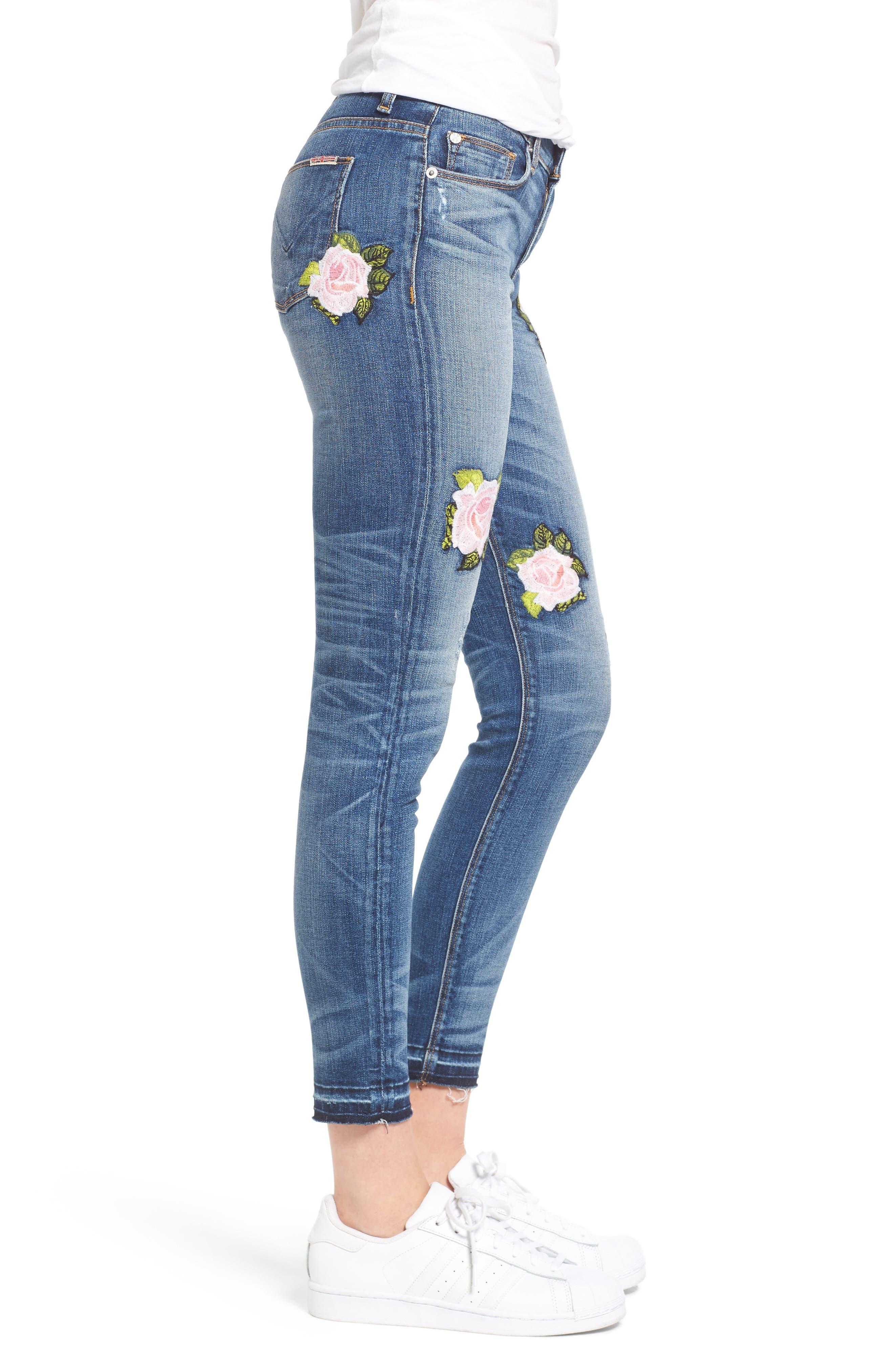 Alternate Image 3  - Hudson Jeans Nico Released Hem Ankle Skinny Jeans