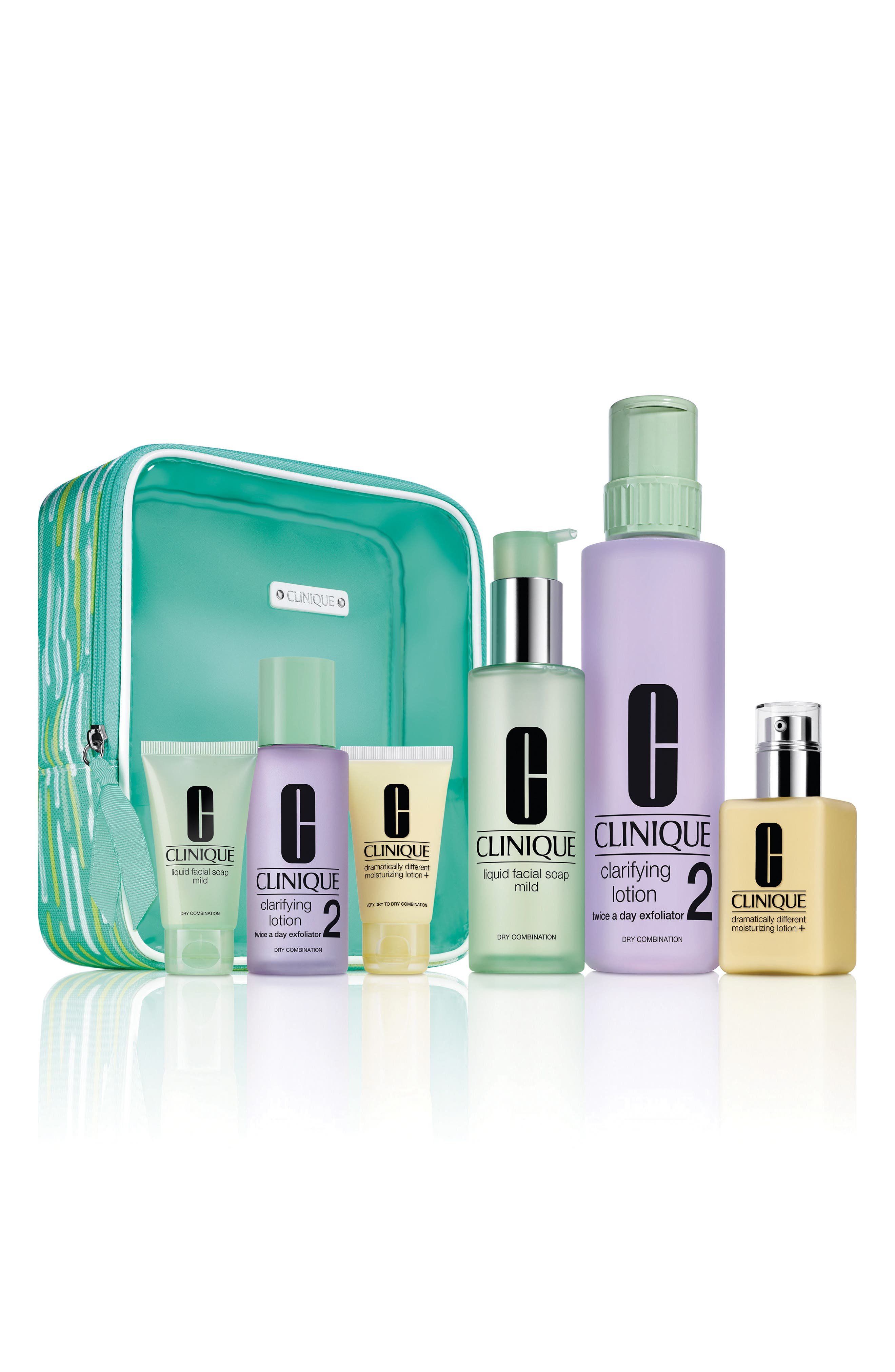 Alternate Image 1 Selected - Clinique Great Skin Everywhere Set for Skin Types I & II ($90 Value)