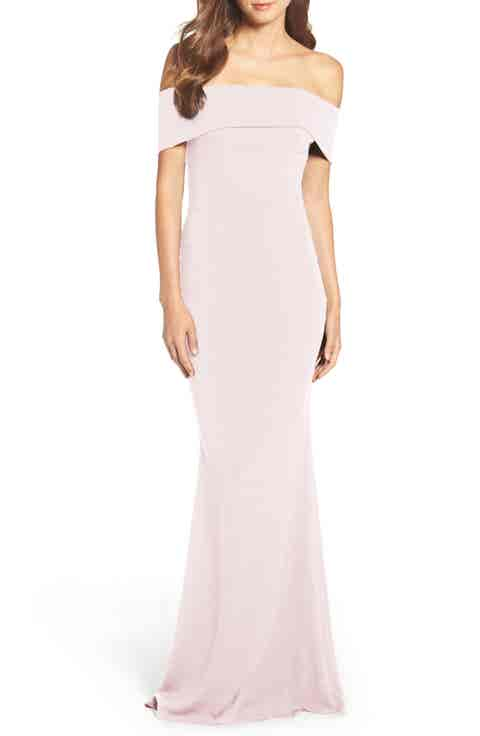 Katie May Crepe Body-Con Gown