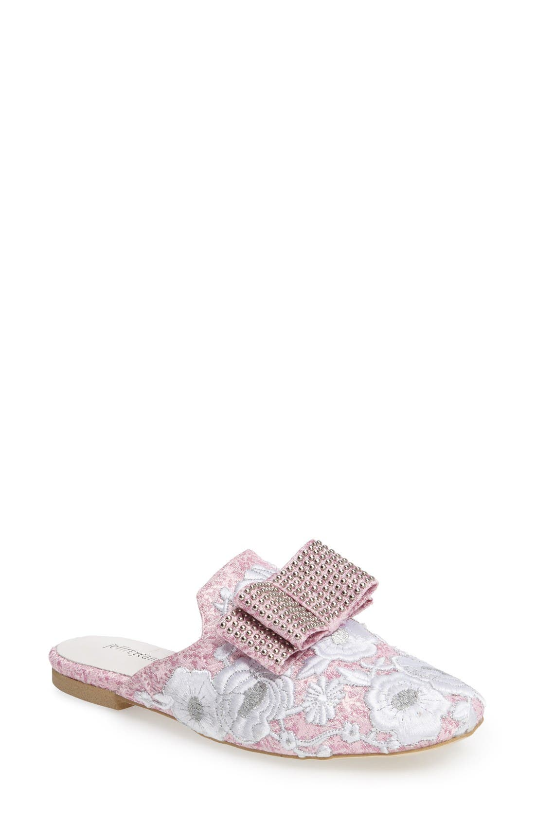 Main Image - Jeffrey Campbell Ravis Studded Loafer Mule (Women)