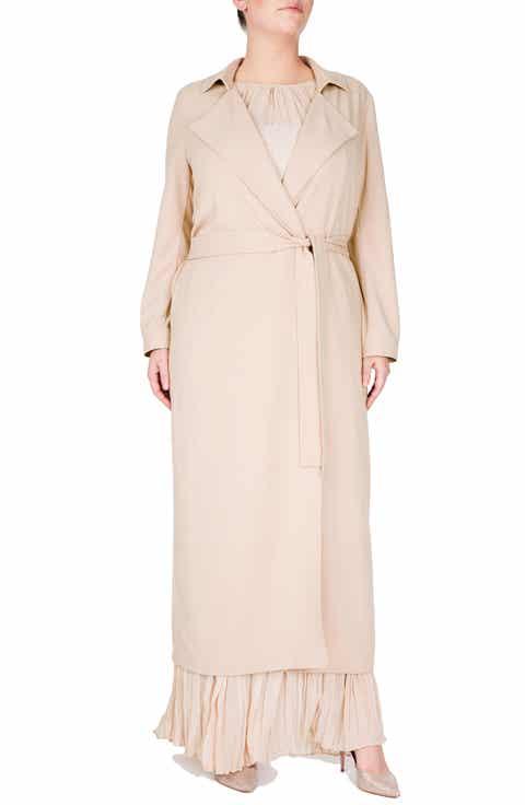 Beige Plus-Size Coats & Jackets   Nordstrom
