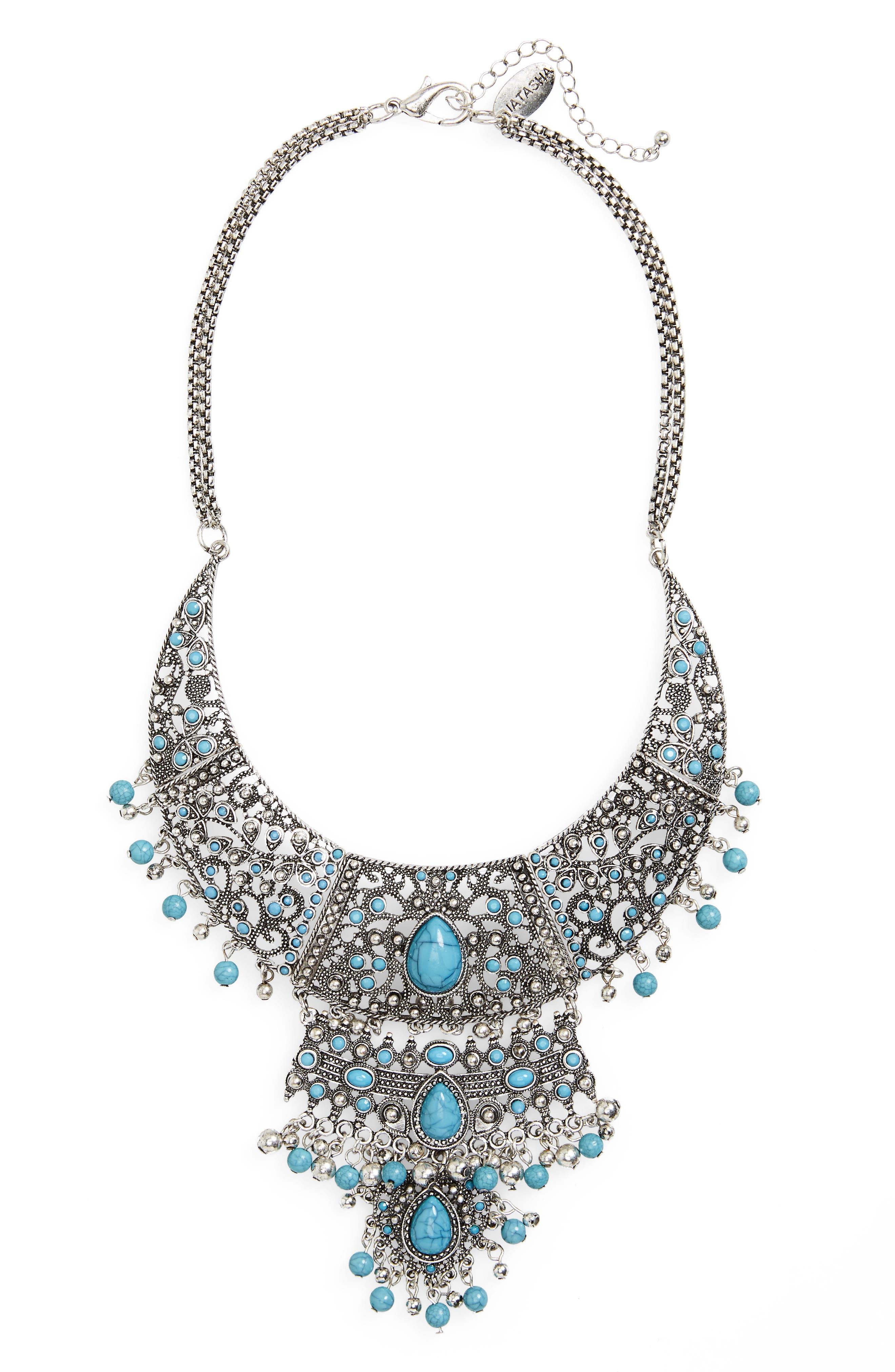 Natasha Couture Statement Necklace
