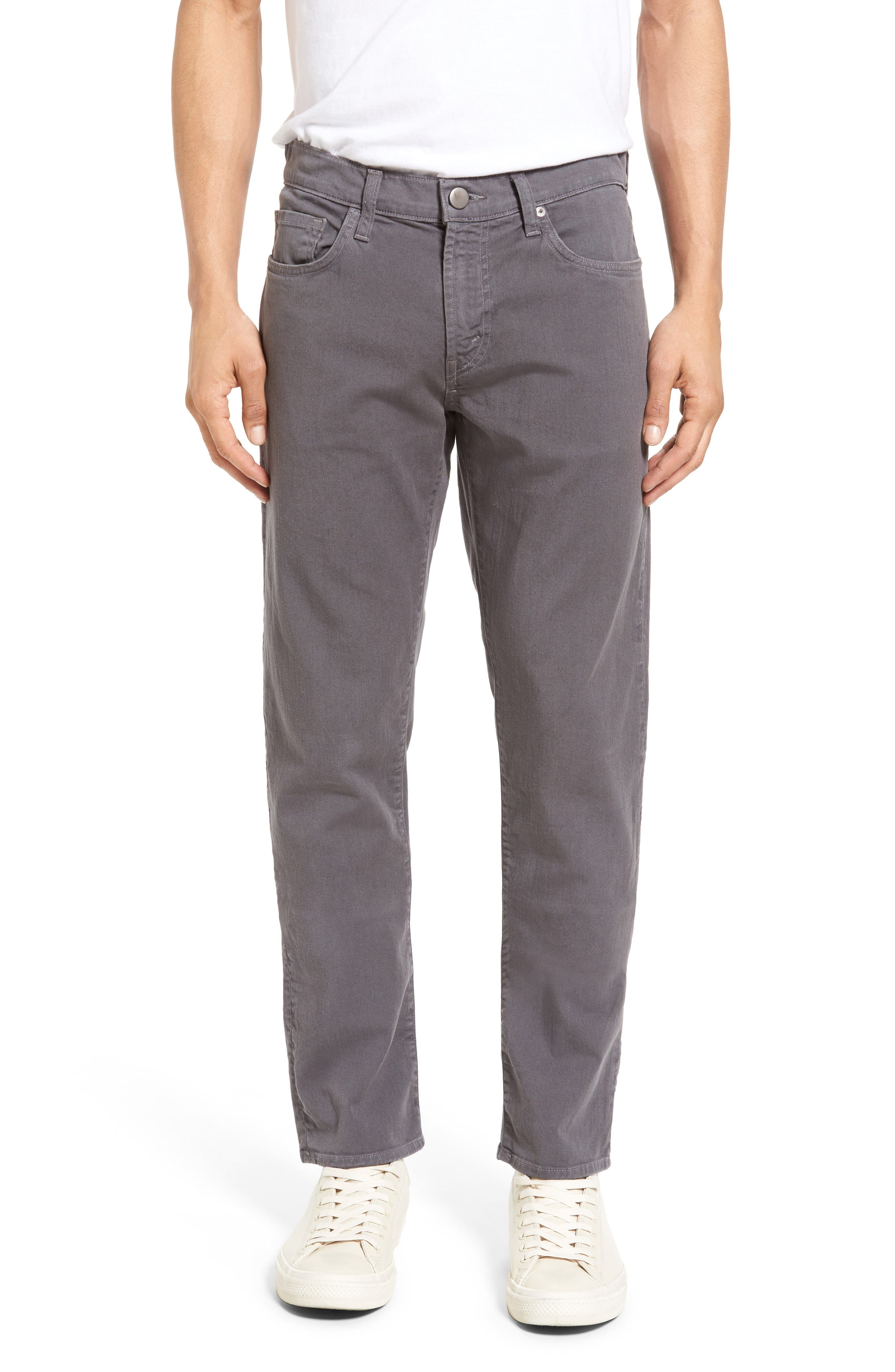 J Brand Tyler Slim Fit Jeans (Iron Gate)