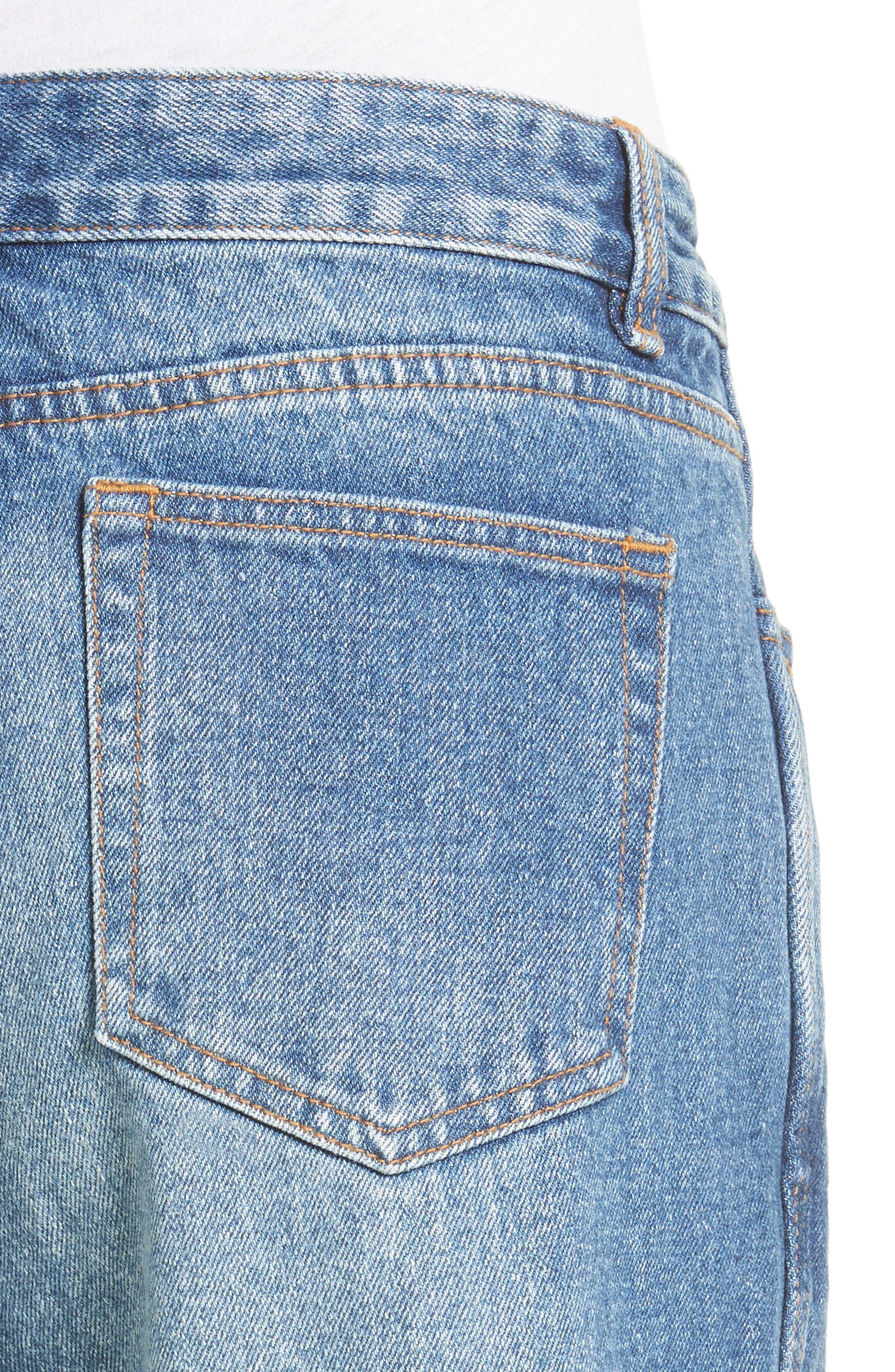 Alternate Image 4  - Robert Rodriguez Two-Tone Gaucho Jeans