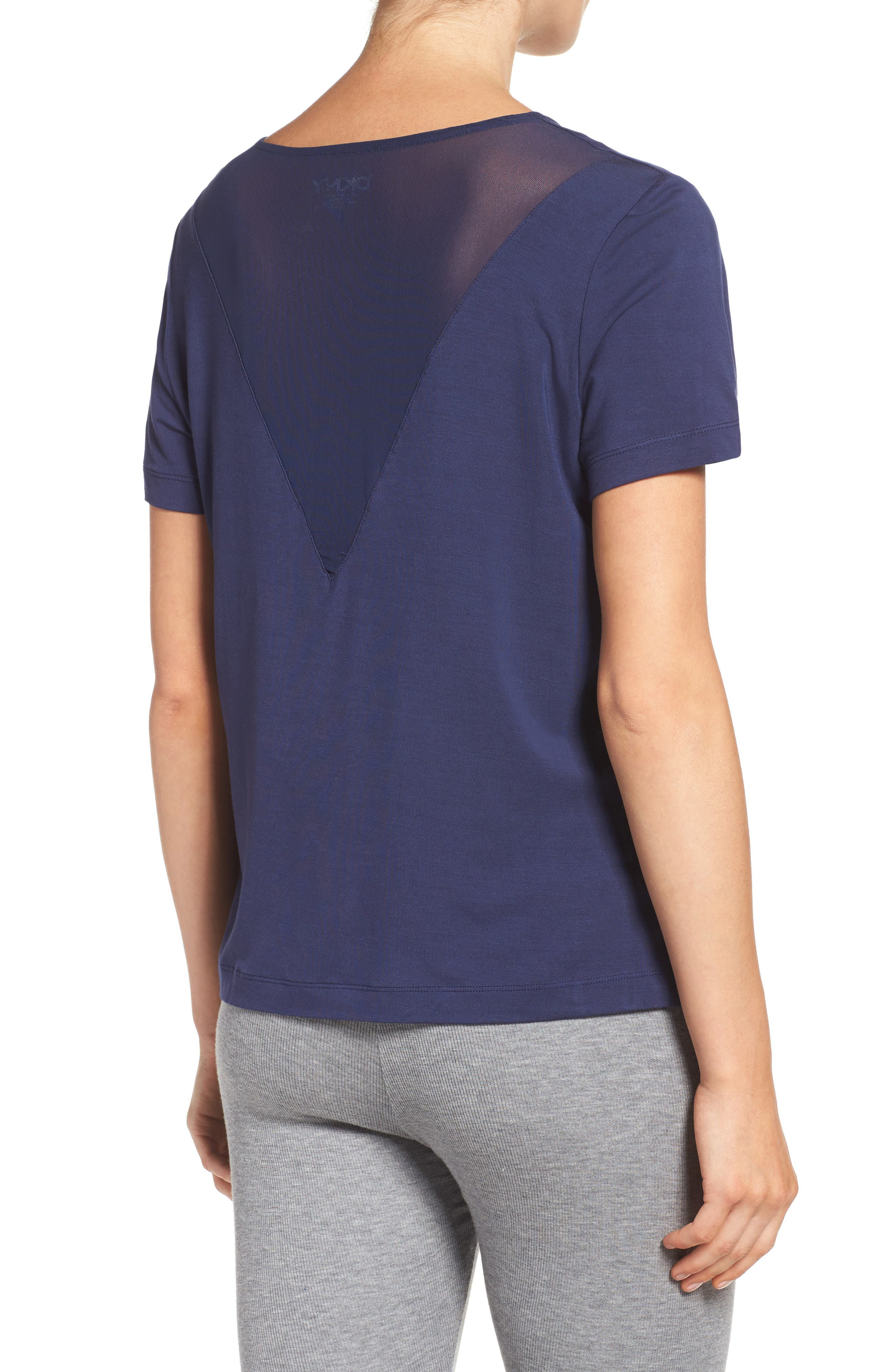 Alternate Image 2  - DKNY Lounge Tee