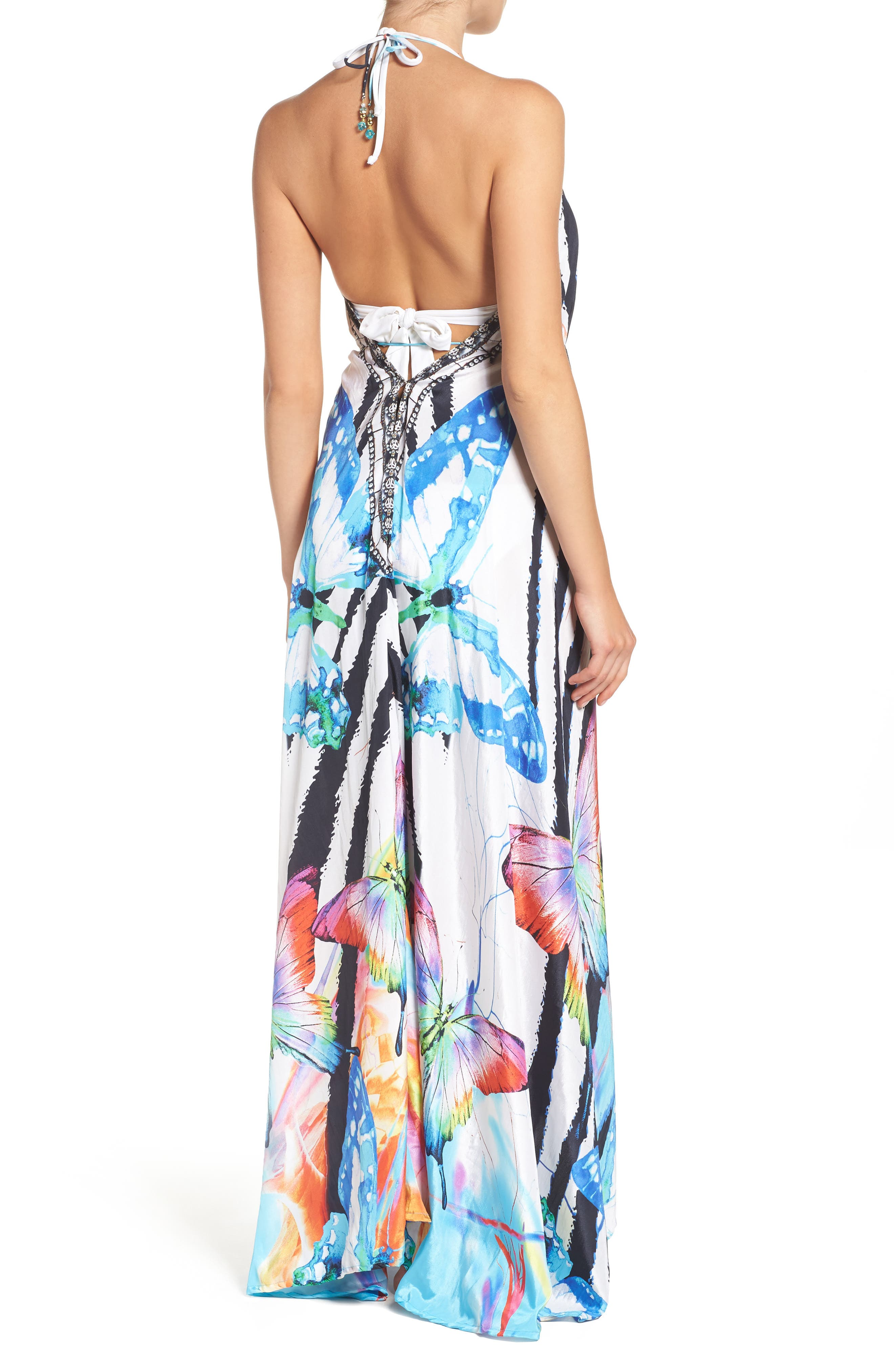 Alternate Image 2  - Asa Kaftans Tortuga Cover-Up Maxi Dress