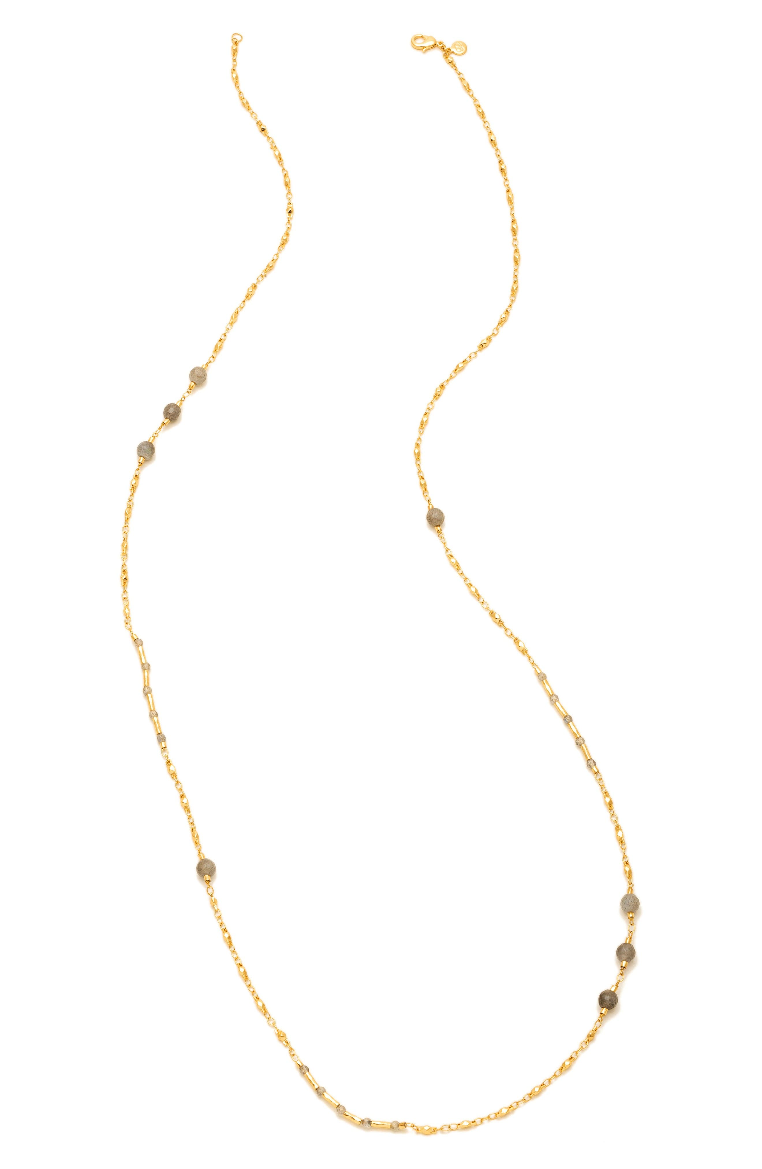 gorjana Sol Semiprecious Station Necklace