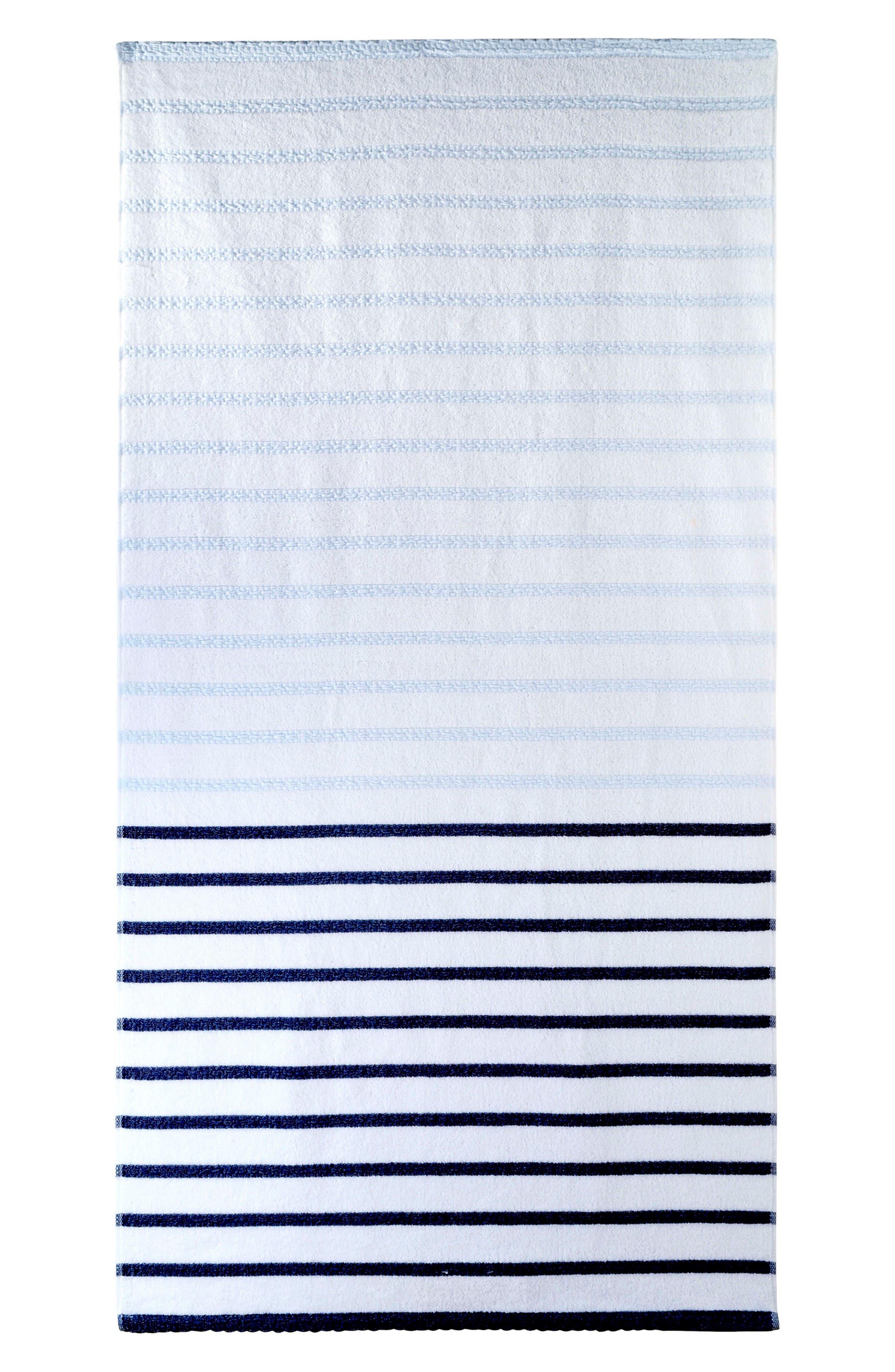 DKNY Stripe Bath Towel