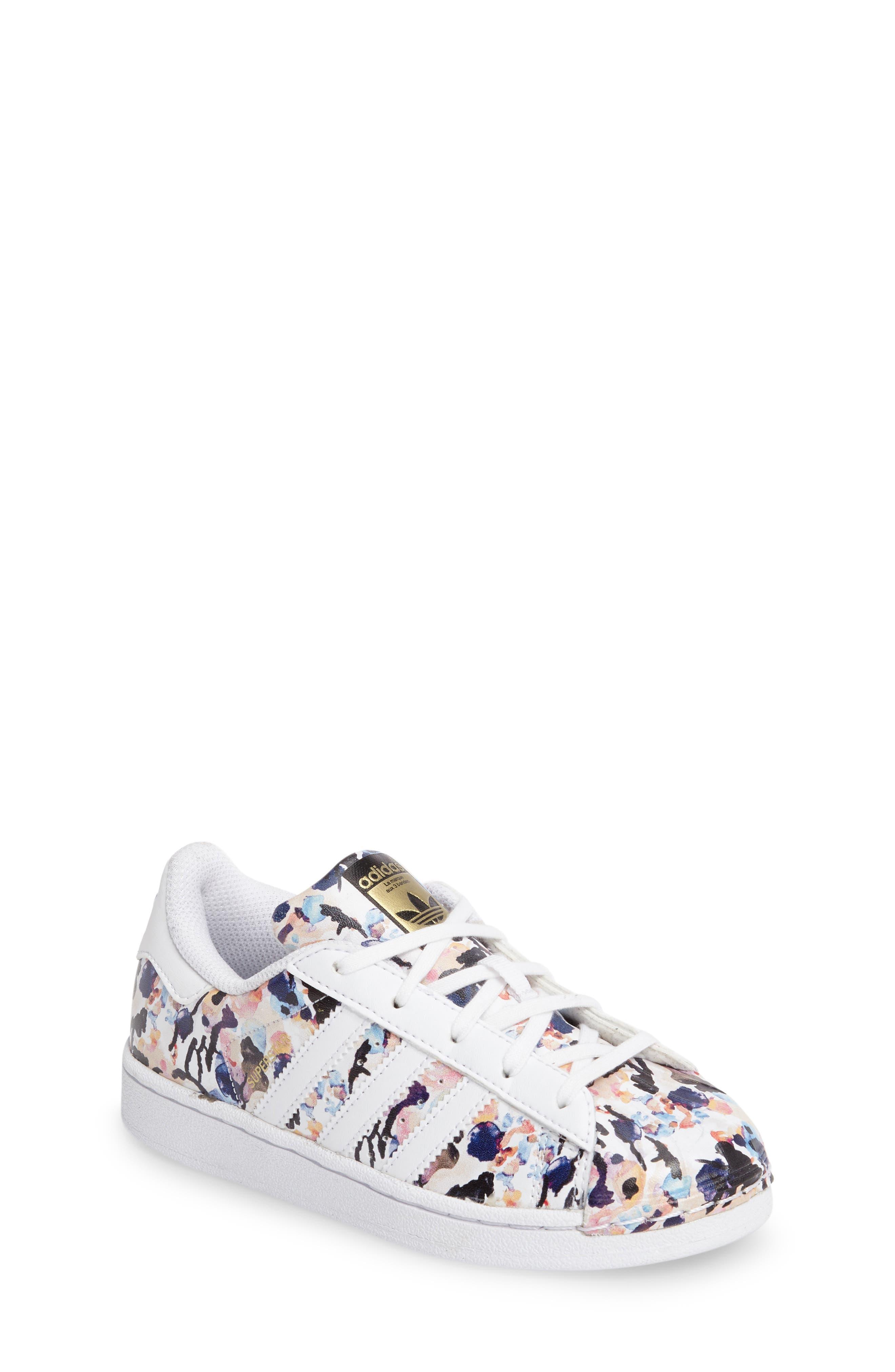 adidas Graphic Superstar Sneaker (Toddler, Little Kid & Big Kid)