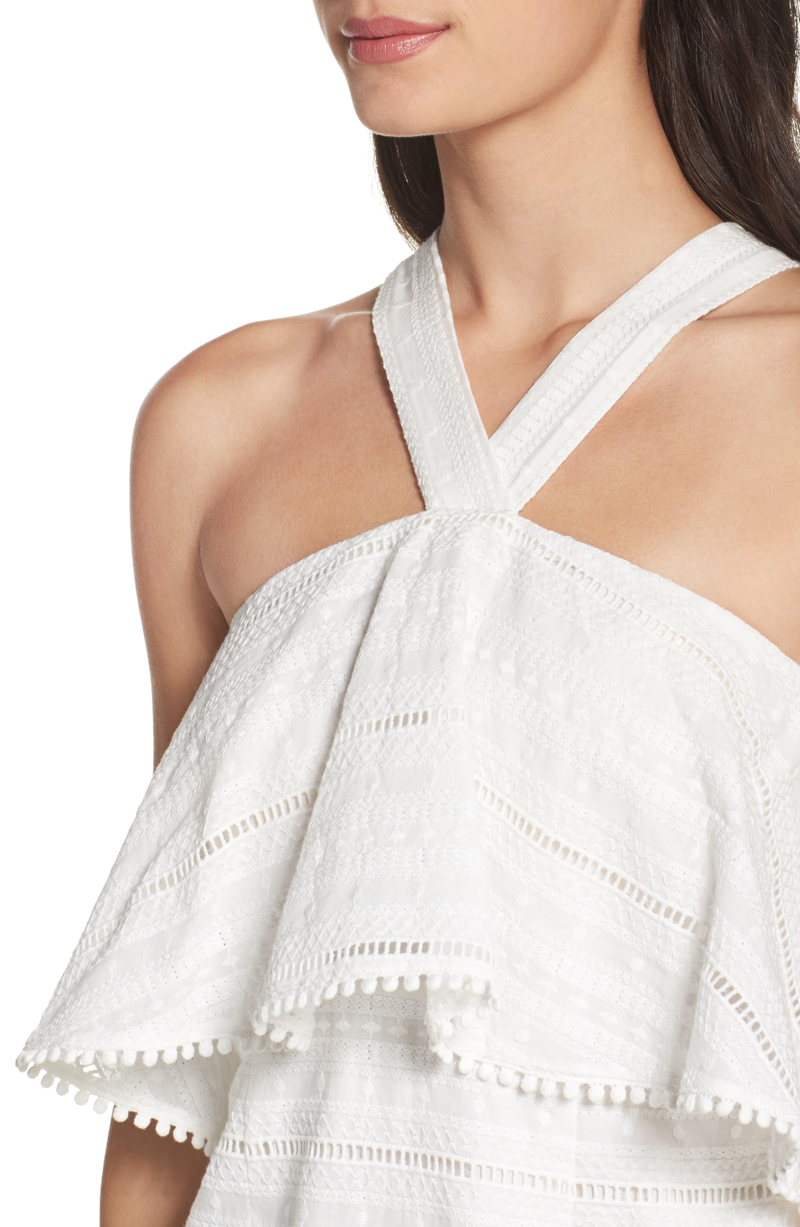 Alternate Image 5  - Chelsea28 Popover Dress