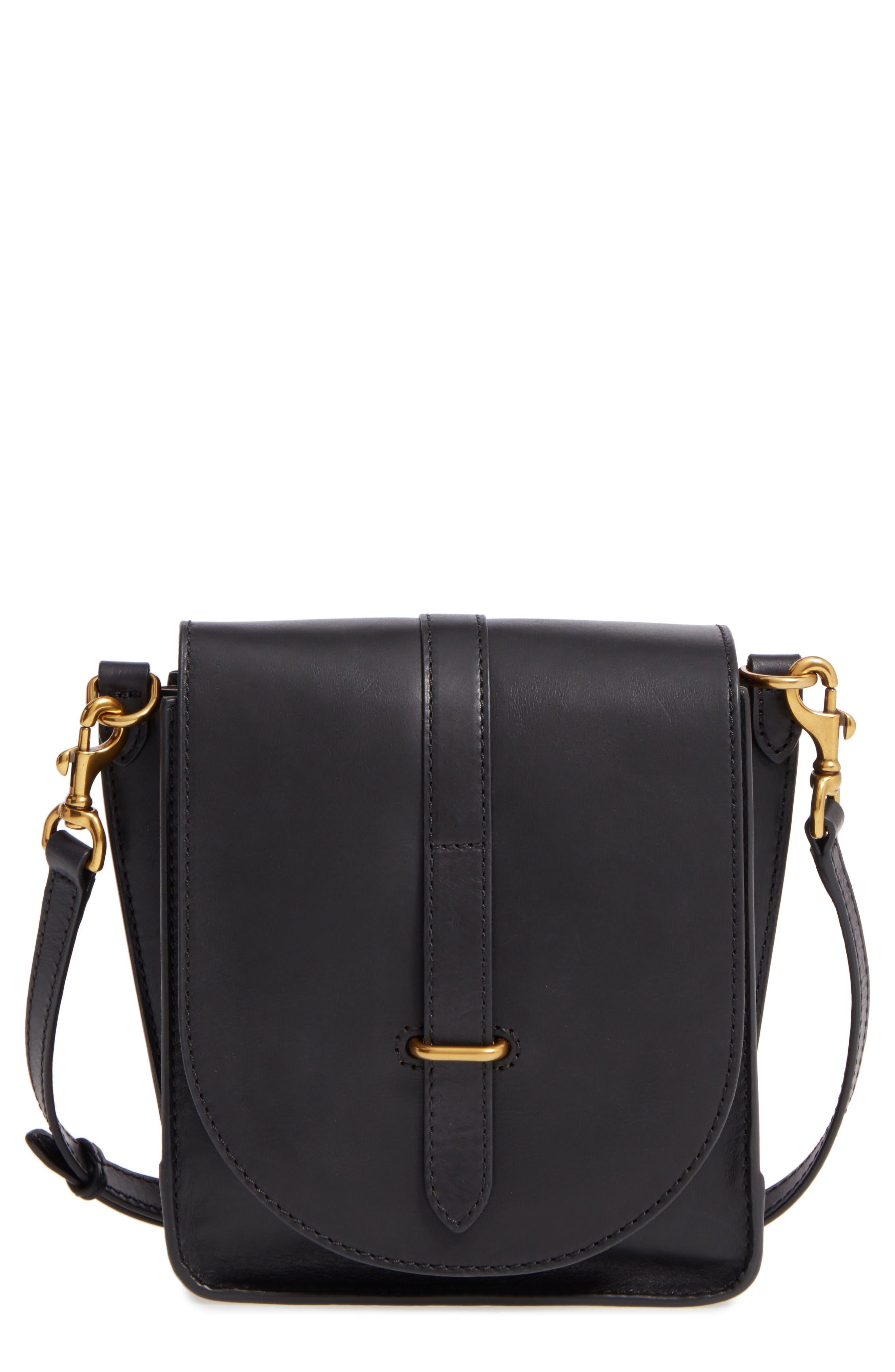 Frye Ilana Leather Crossbody Bag