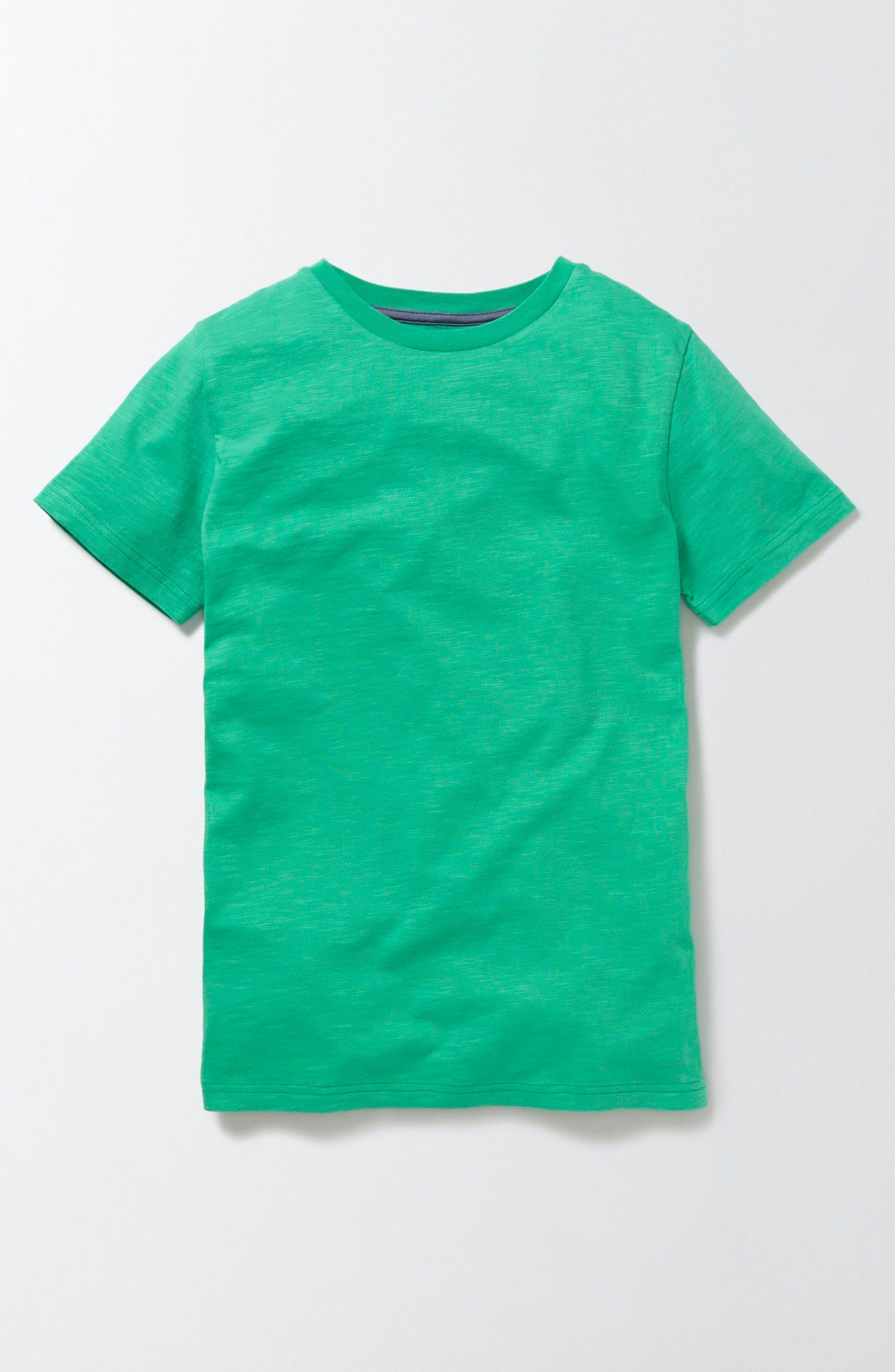Mini Boden Slub T-Shirt (Toddler Boys, Little Boys & Big Boys)