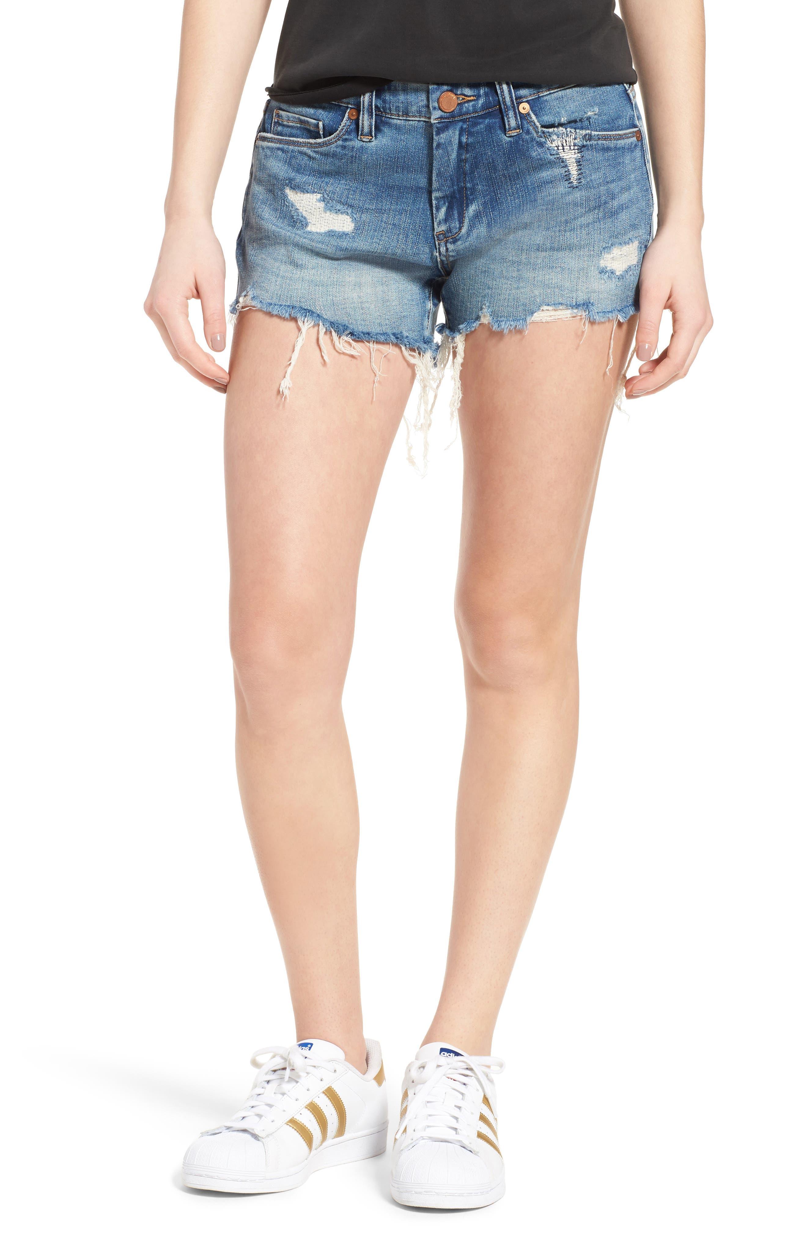 BLANKNYC Little Queenie Ripped Jean Shorts (Box Fresh)
