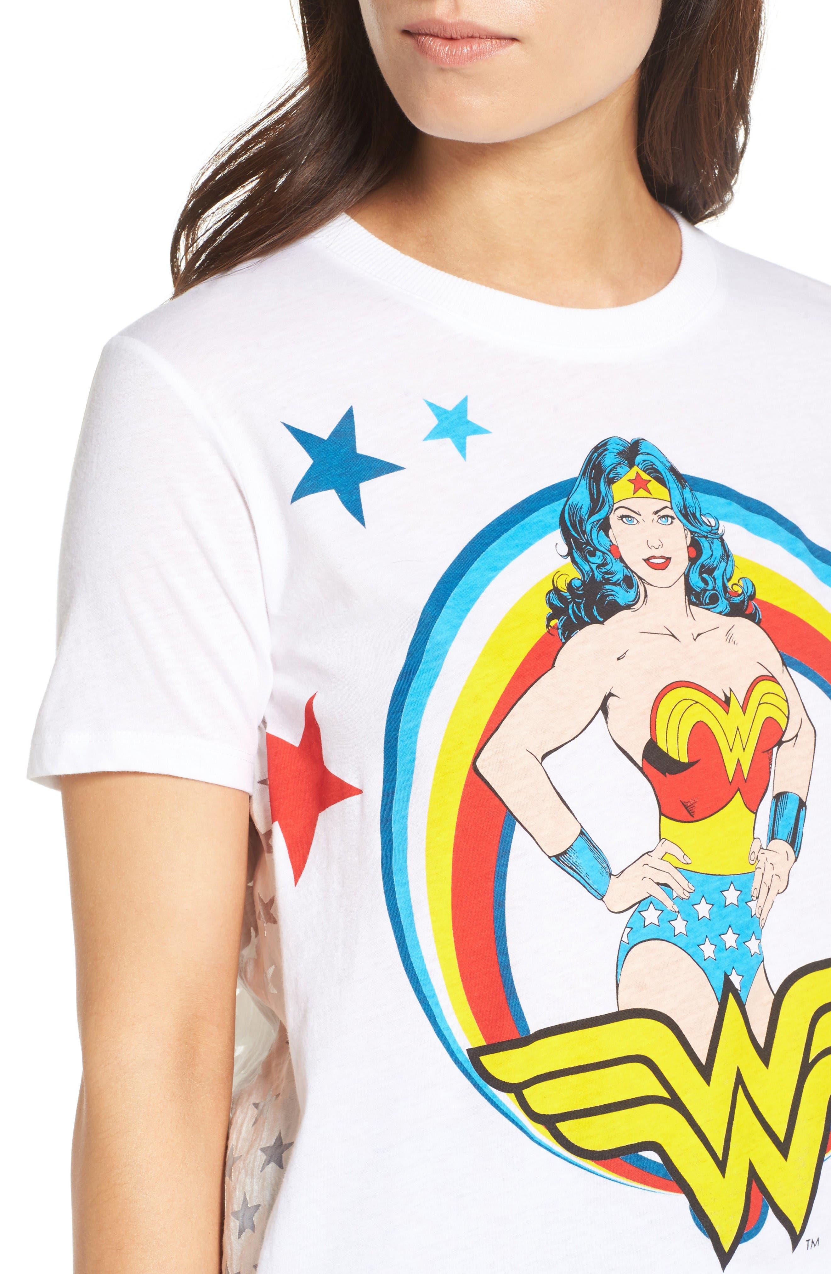 Alternate Image 4  - Paul & Joe Sister Wonder Woman Tee