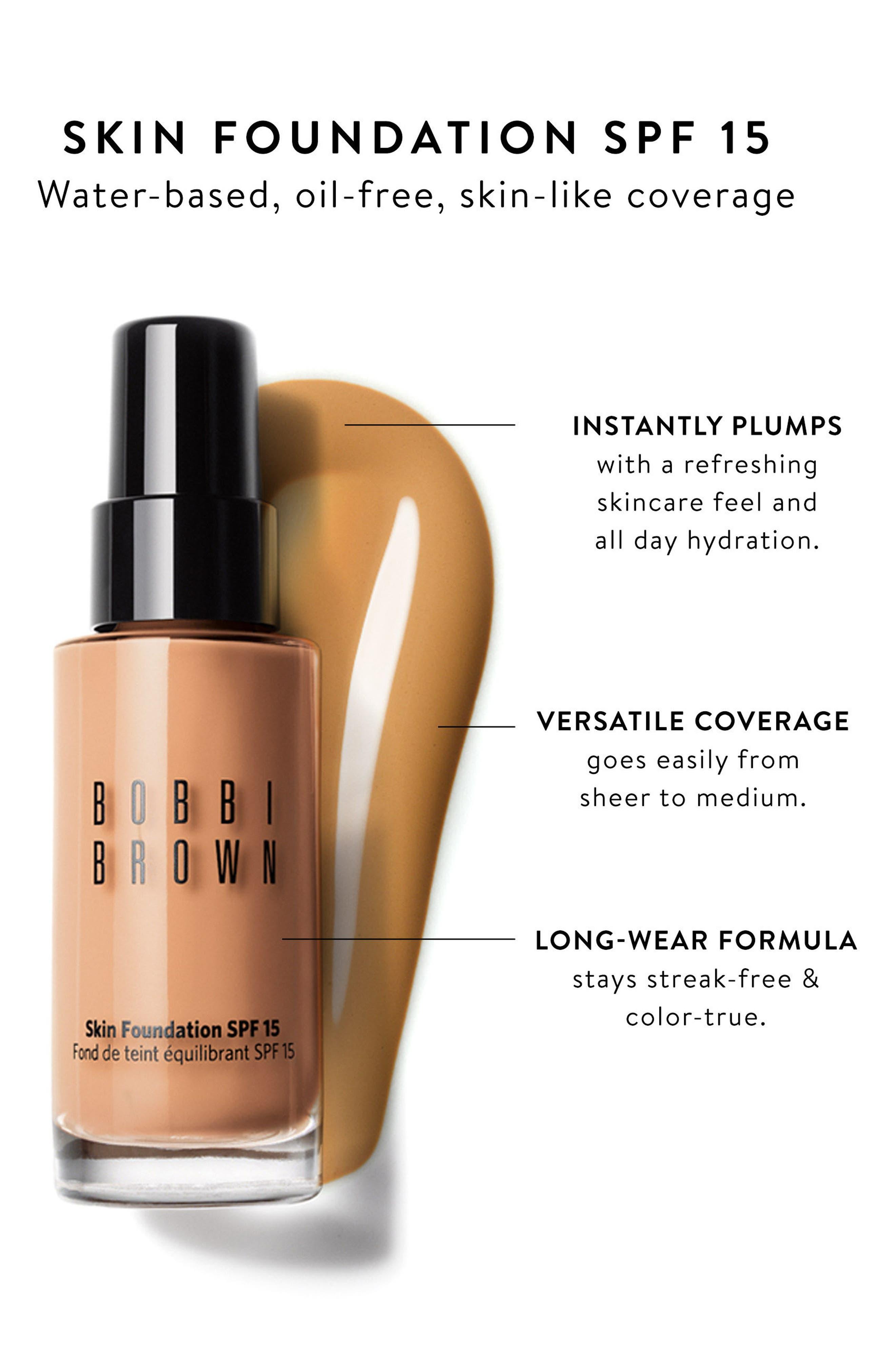 Alternate Image 4  - Bobbi Brown Skin Foundation SPF 15