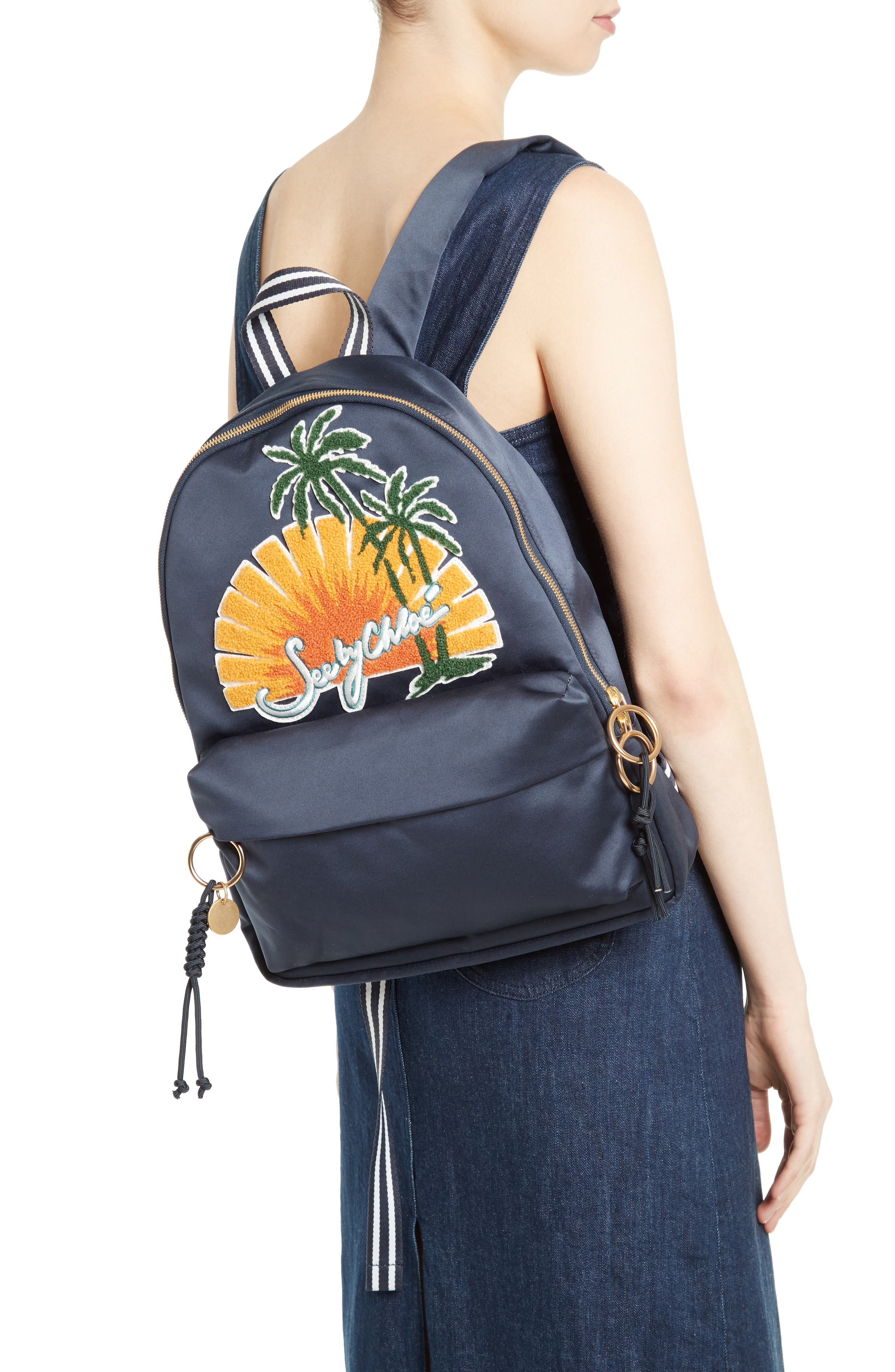 Alternate Image 2  - See by Chloé Andy Appliqué Backpack