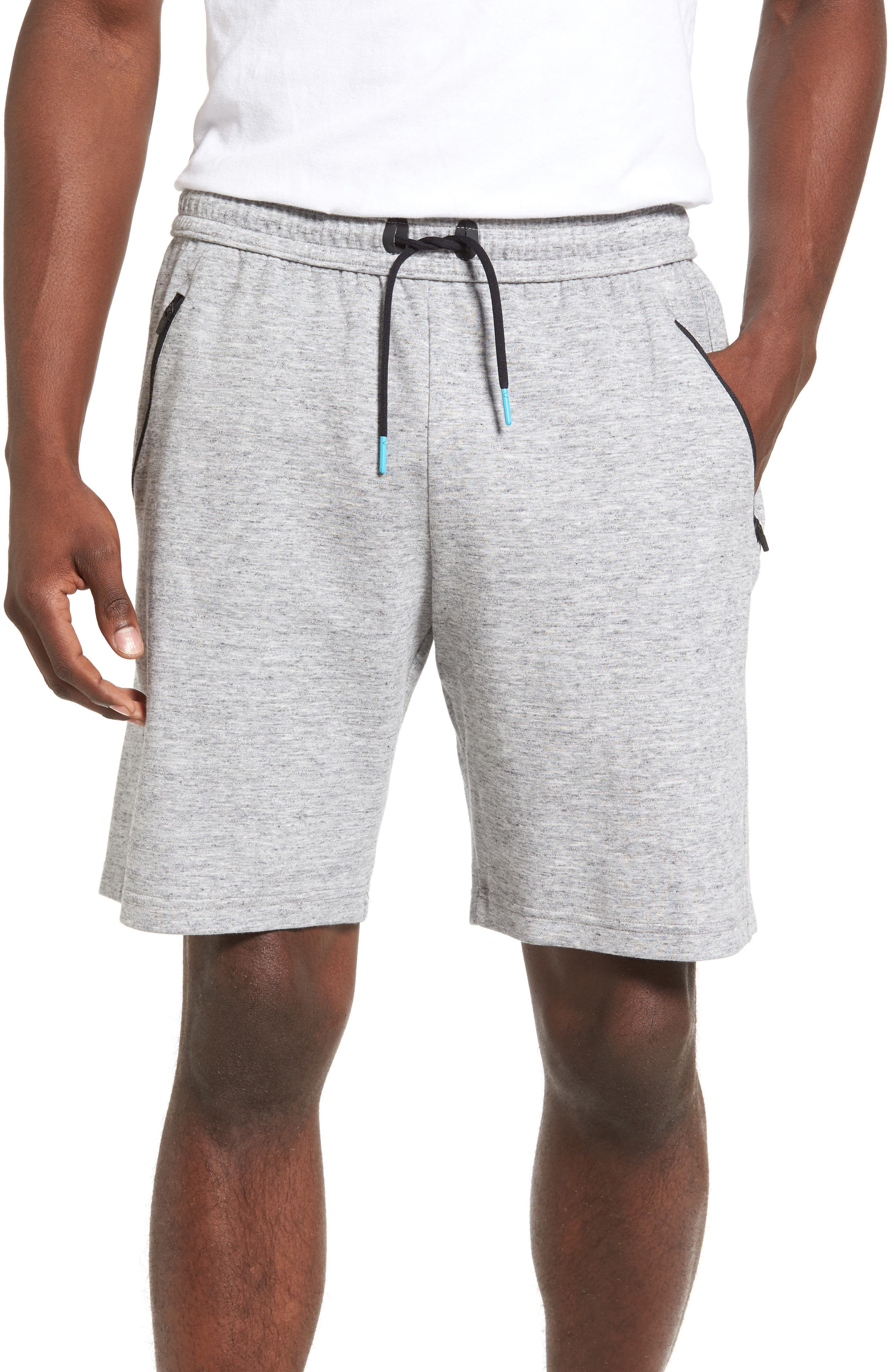 Zella Magnetite Fleece Tech Shorts