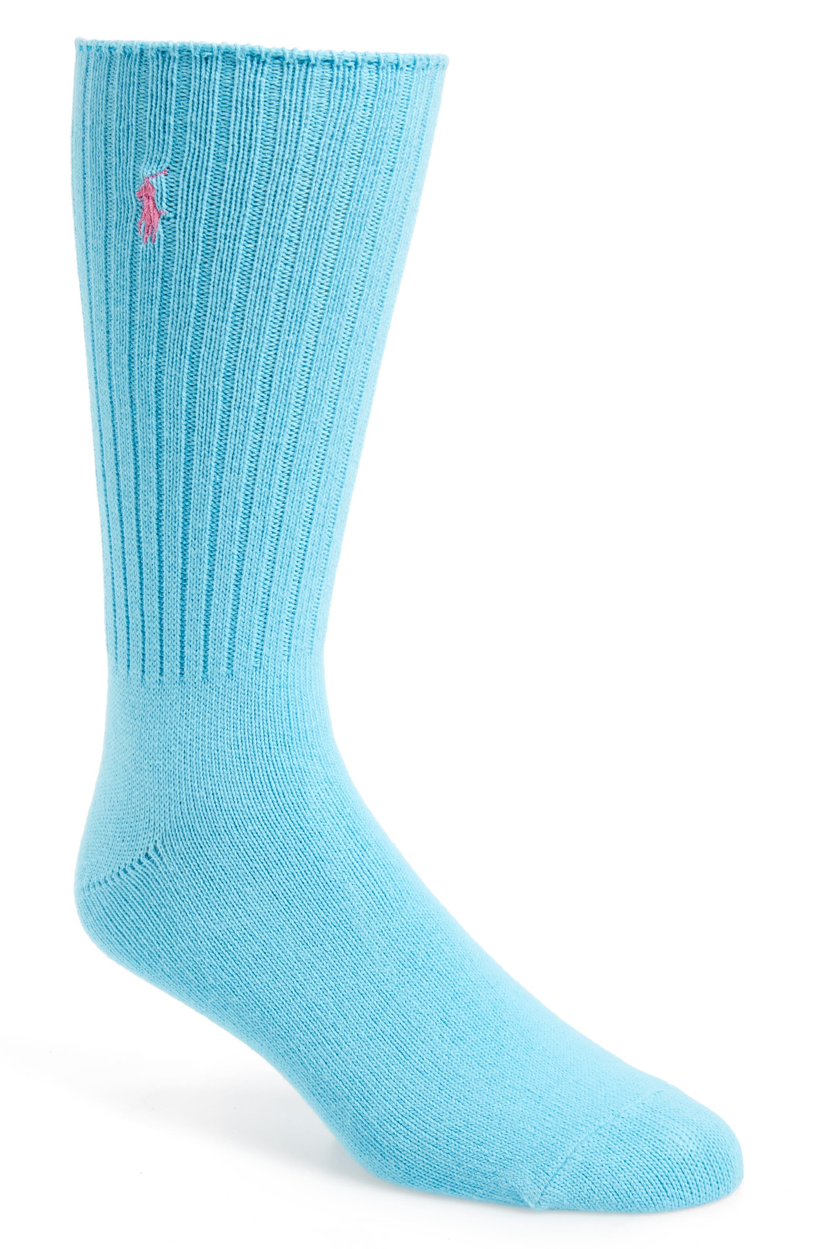 Alternate Image 1 Selected - Polo Ralph Lauren Crew Socks