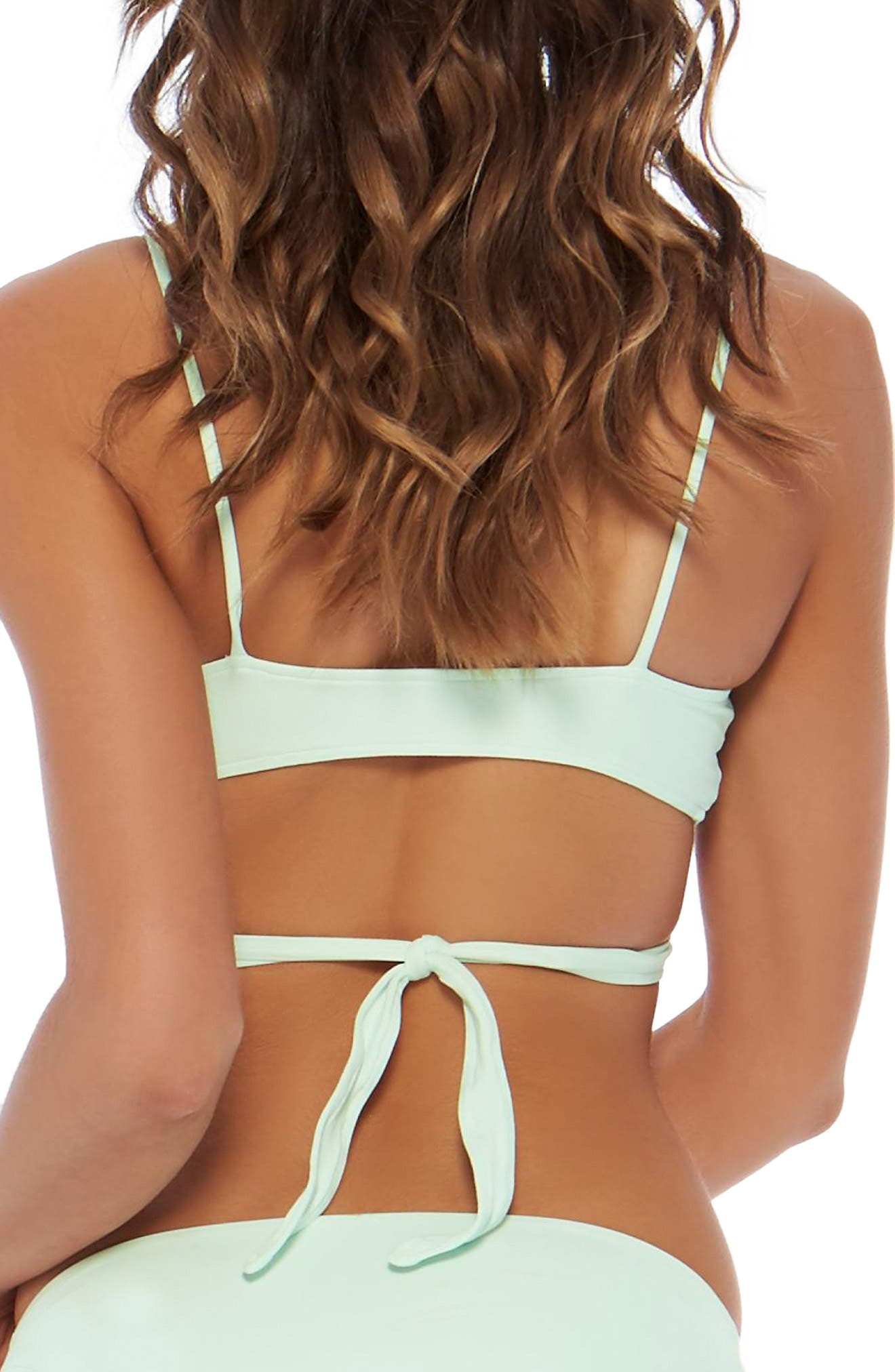 Alternate Image 2  - L Space Chloe Wrap Bikini Top